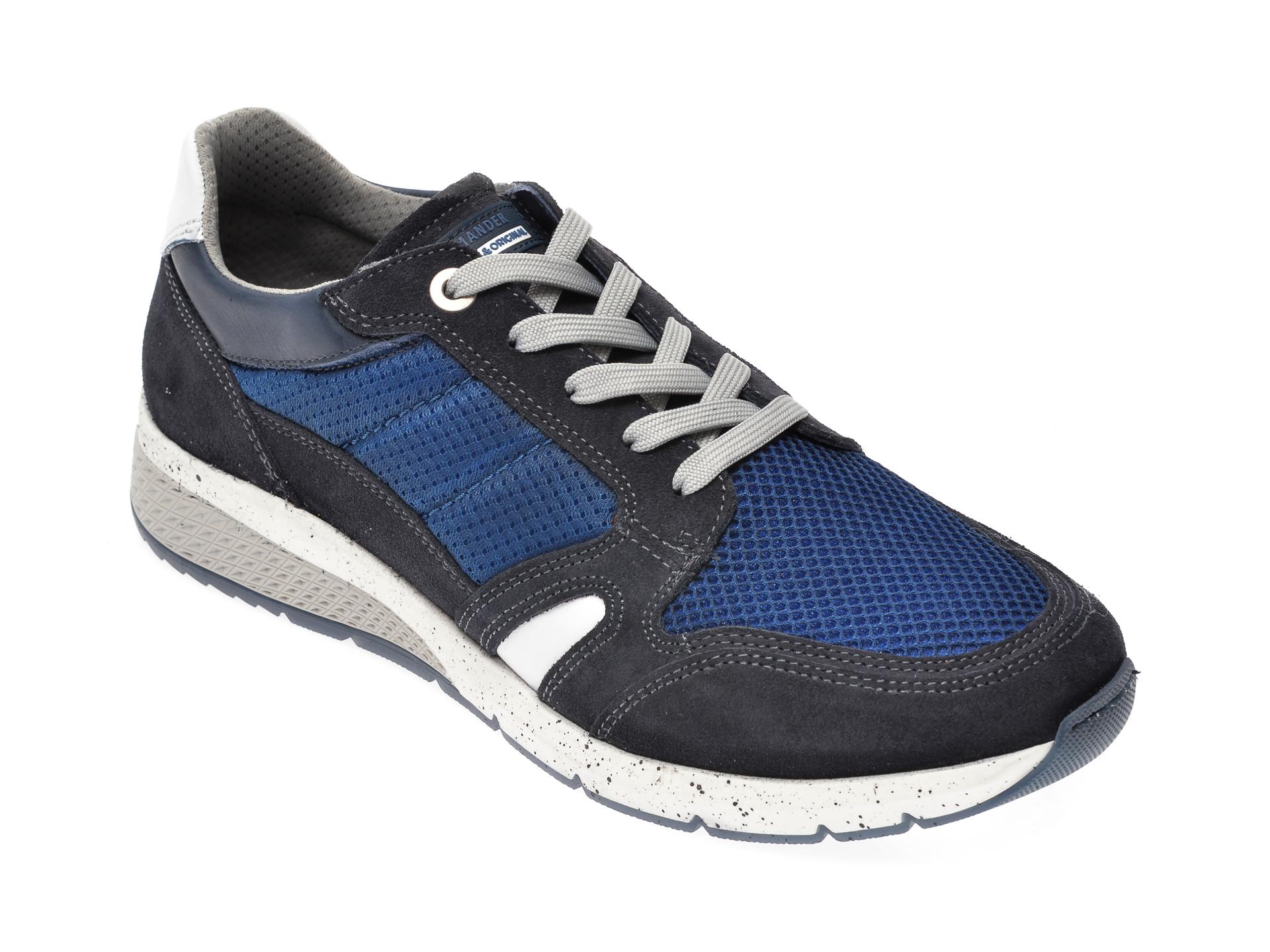 Pantofi SALAMANDER bleumarin, 54803, din material textil imagine