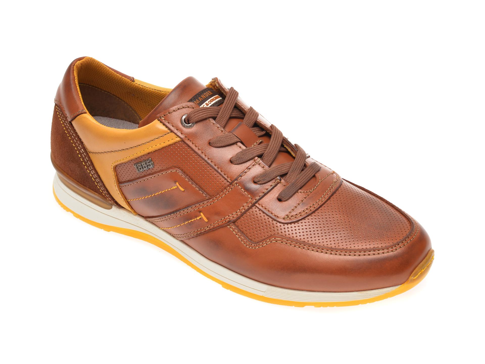 Pantofi SALAMANDER maro, 56201, din piele naturala imagine