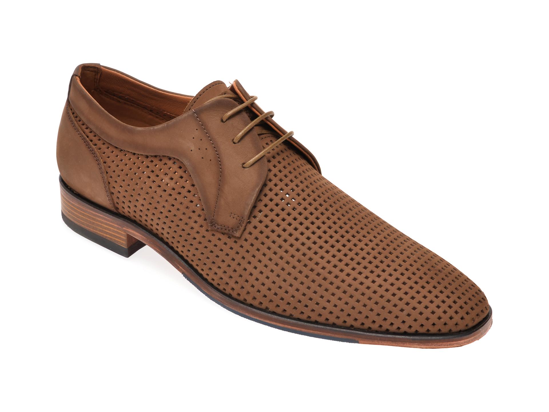 Pantofi SALAMANDER taupe, 57418, din piele intoarsa imagine