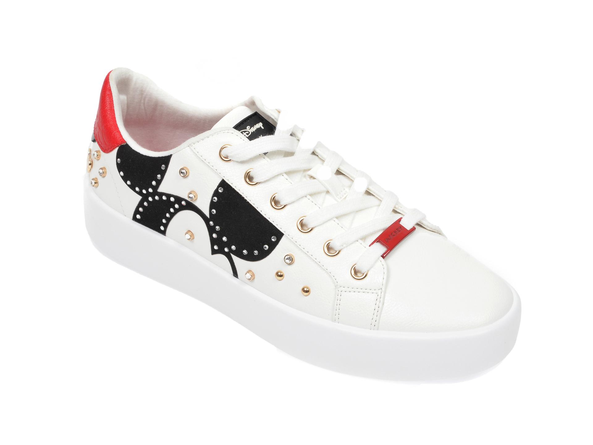 Pantofi sport ALDO albi, Party-Mickey100, din piele ecologica imagine
