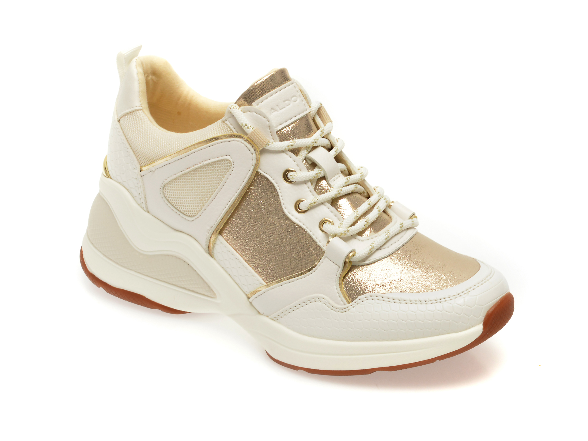 Pantofi Sport Aldo Albi, Vany710, Din Material Textil Si Piele Ecologica