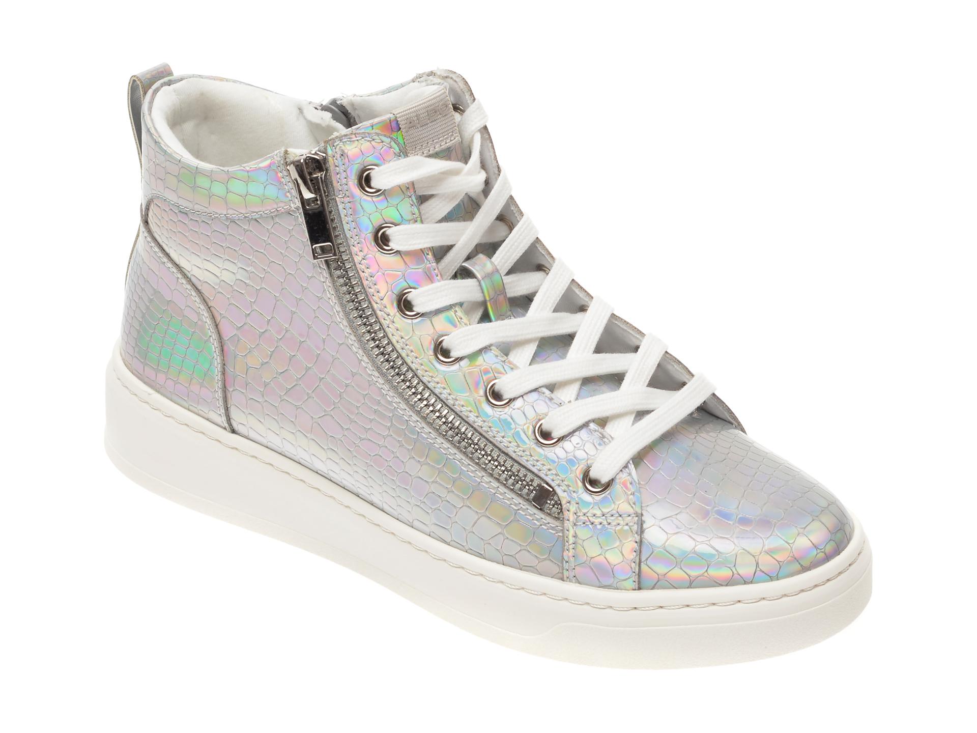 Pantofi sport ALDO argintii, Harleigh962, din piele ecologica imagine