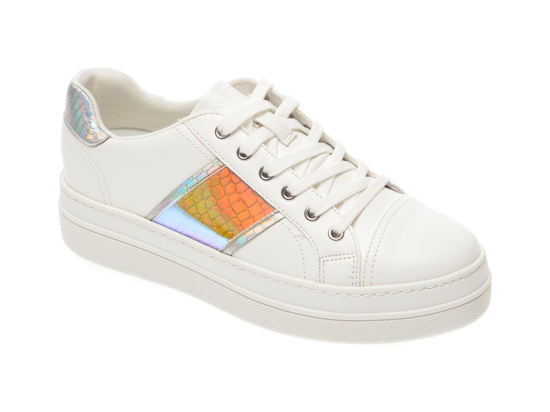 Pantofi sport ALDO argintii, Starburst962, din piele ecologica imagine