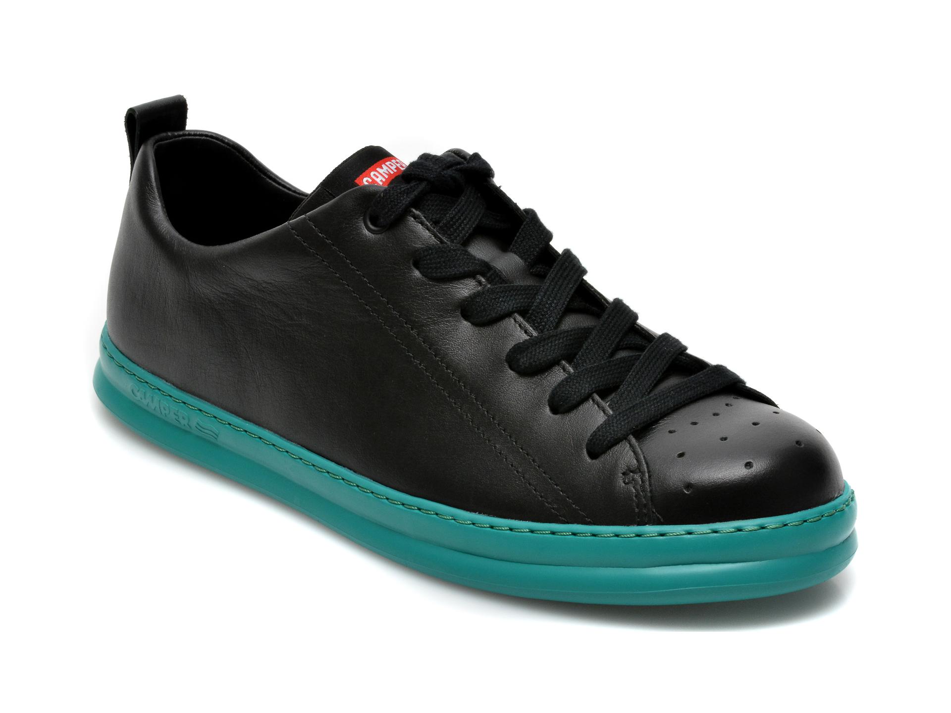 Pantofi sport CAMPER negri, K100226, din piele naturala