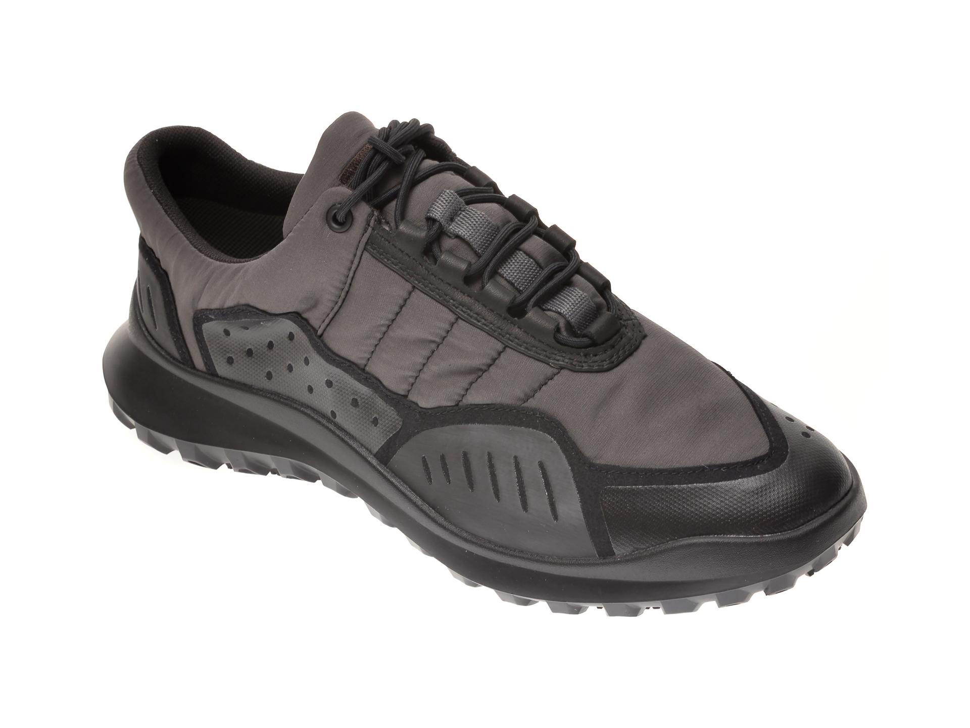 Pantofi sport CAMPER negri, K100658, din material textil