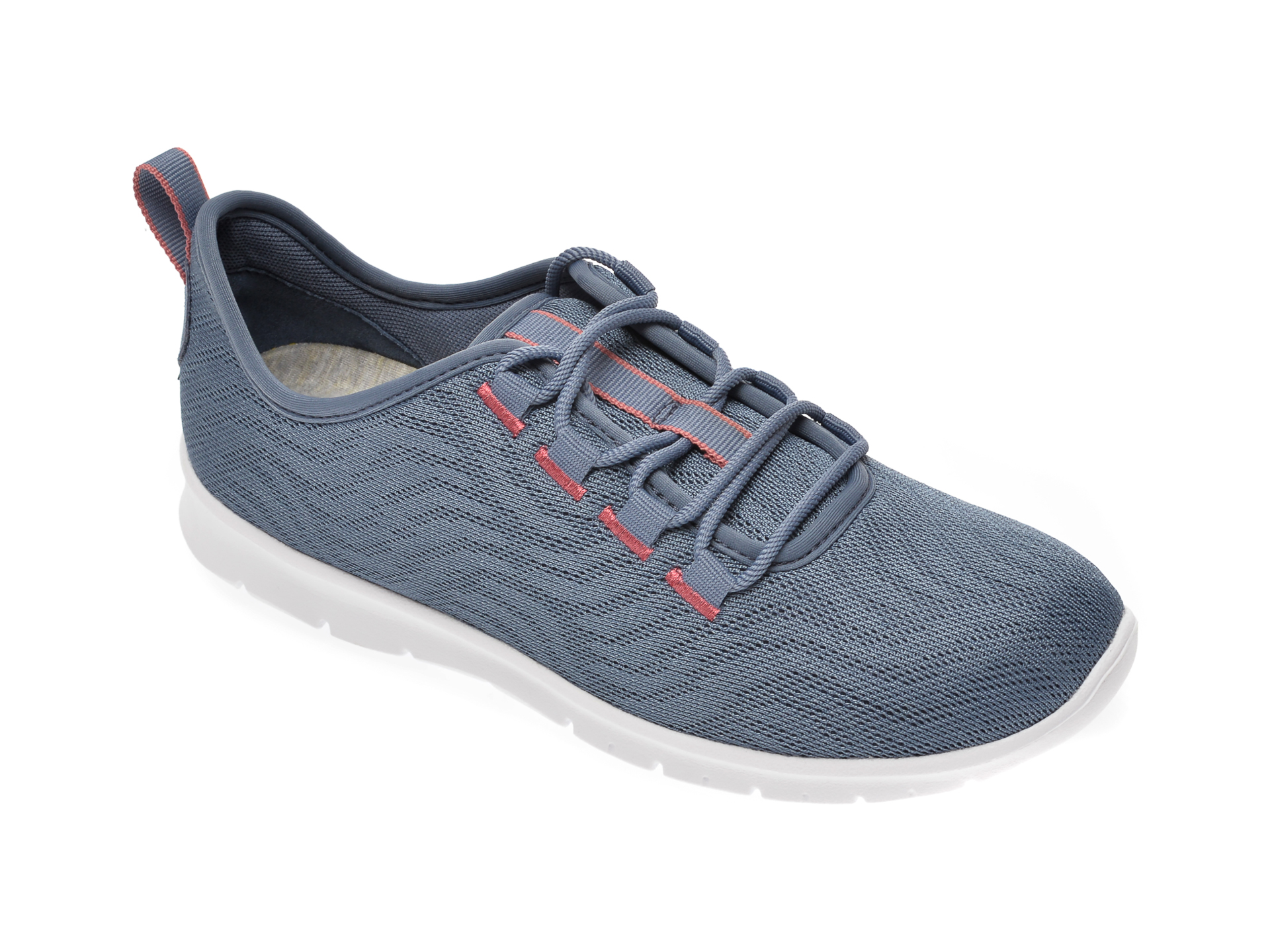Pantofi Sport Clarks Gri, Step Allena Go, Din Material Textil