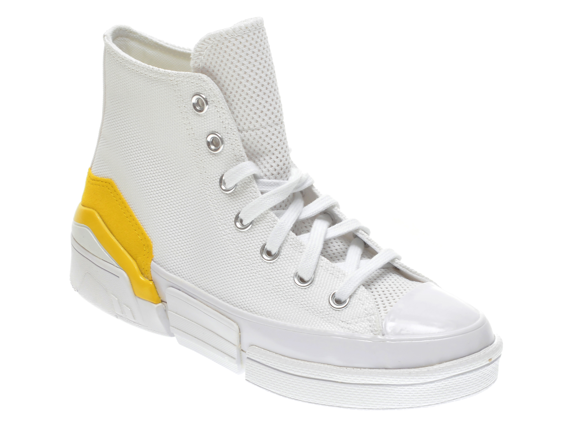 Pantofi sport CONVERSE albe, 568648C, din material textil imagine