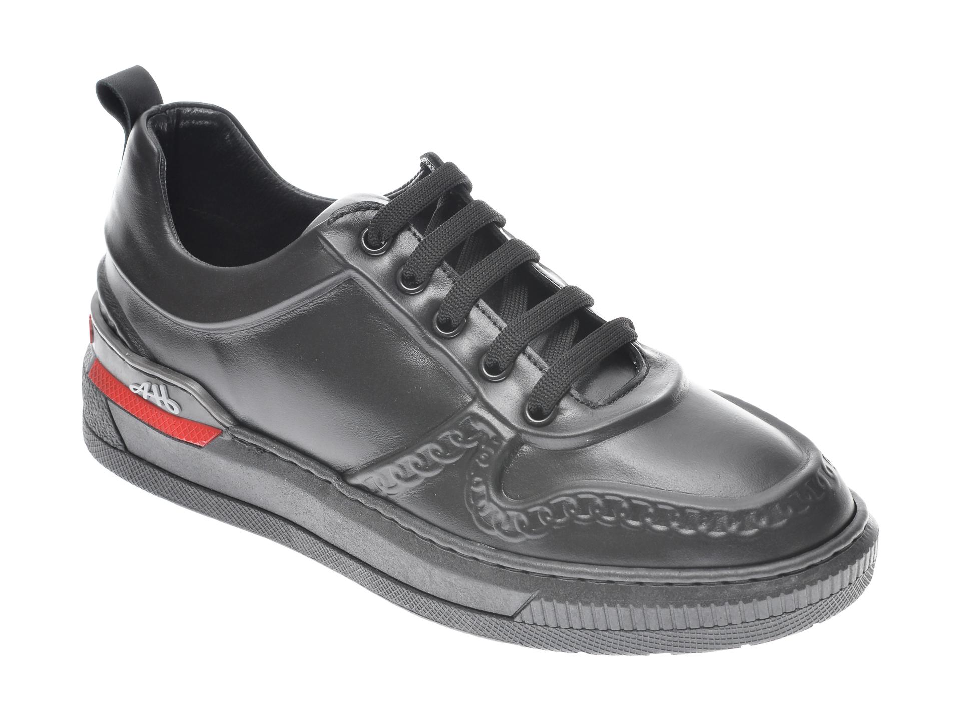 Pantofi Sport Flavia Passini Negri, 054netr, Din Piele Naturala