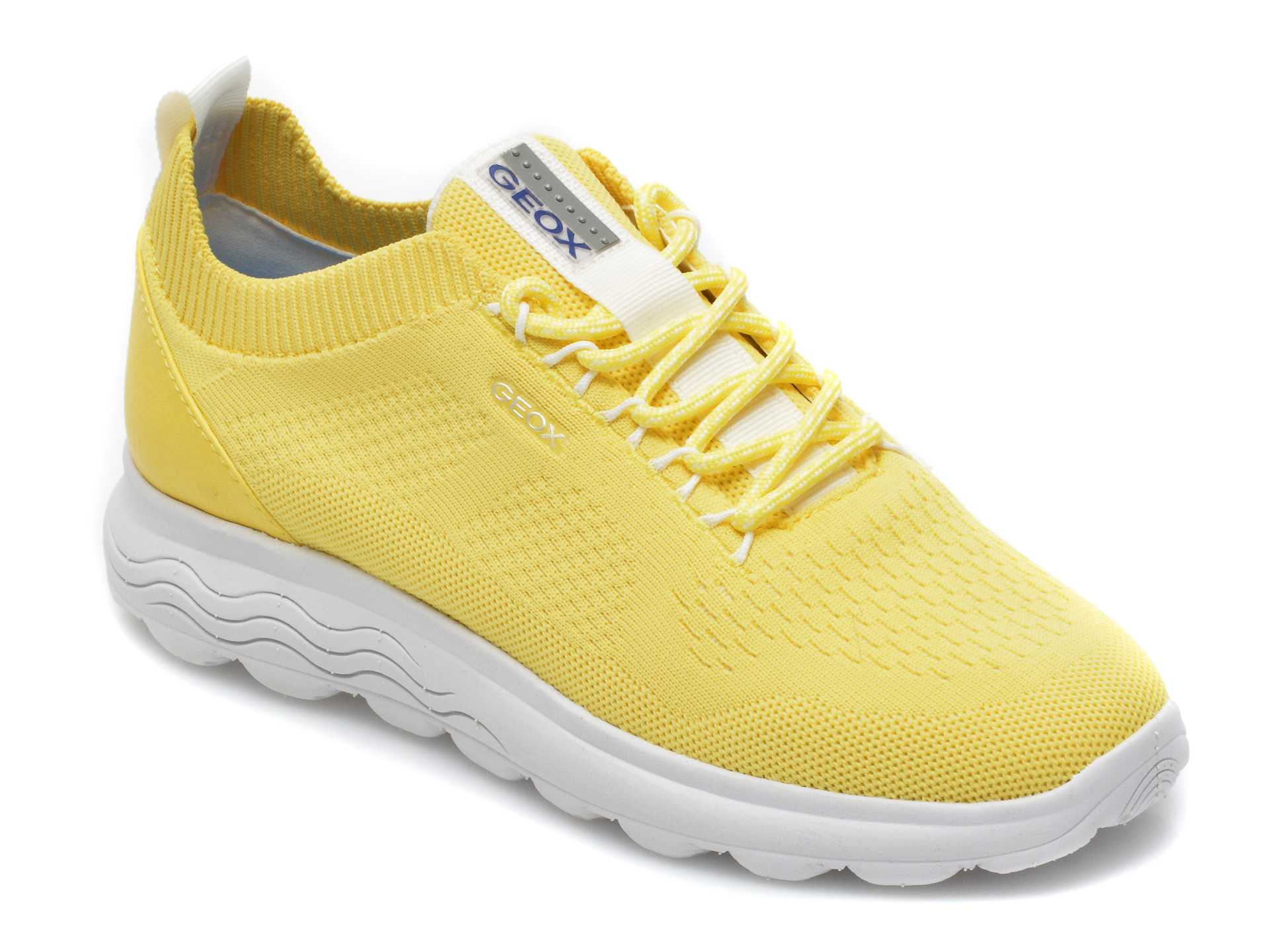 Pantofi sport GEOX galbeni, D15NUA, din material textil