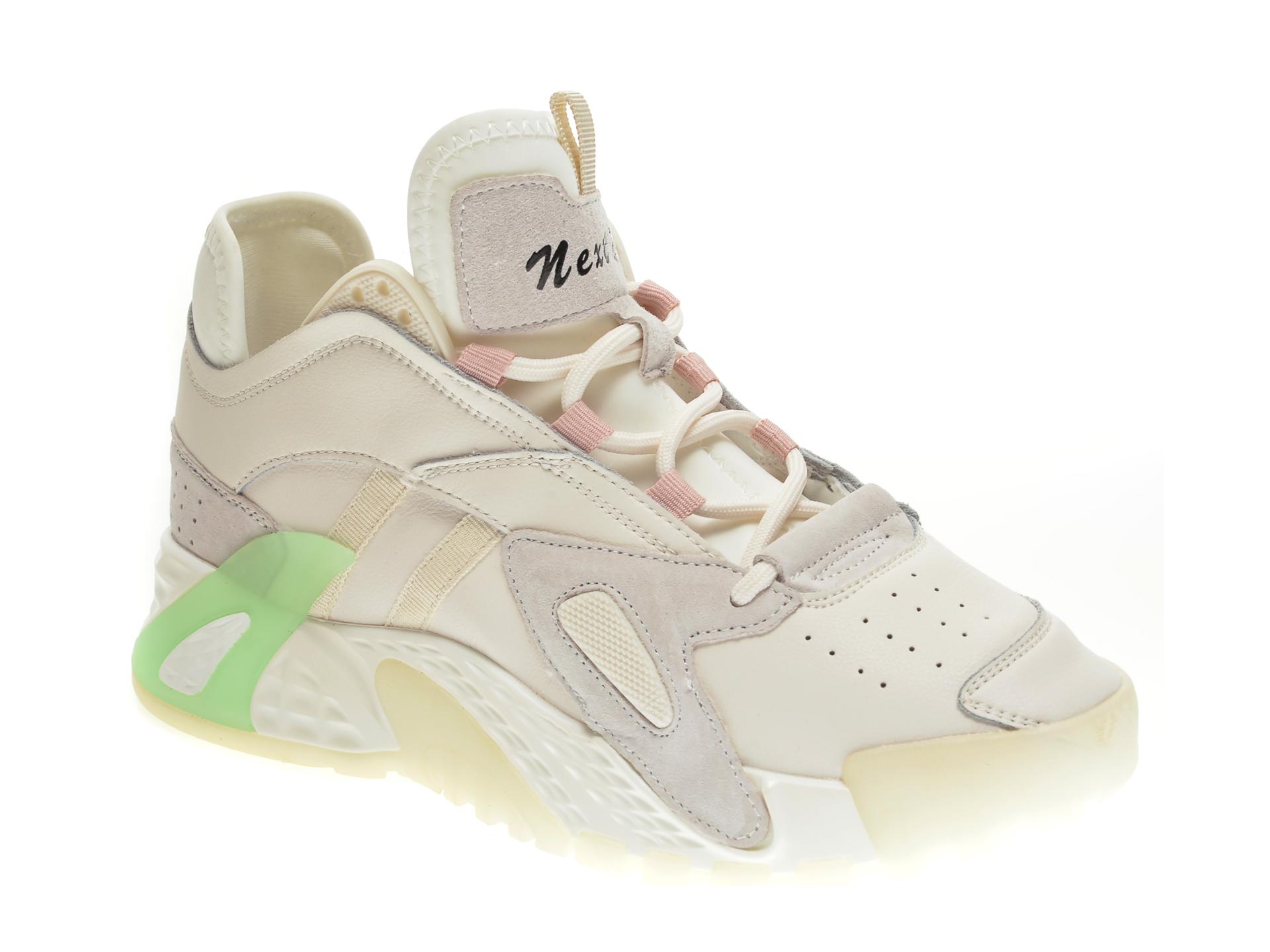 Pantofi sport GRYXX albi, 2071, din piele naturala imagine