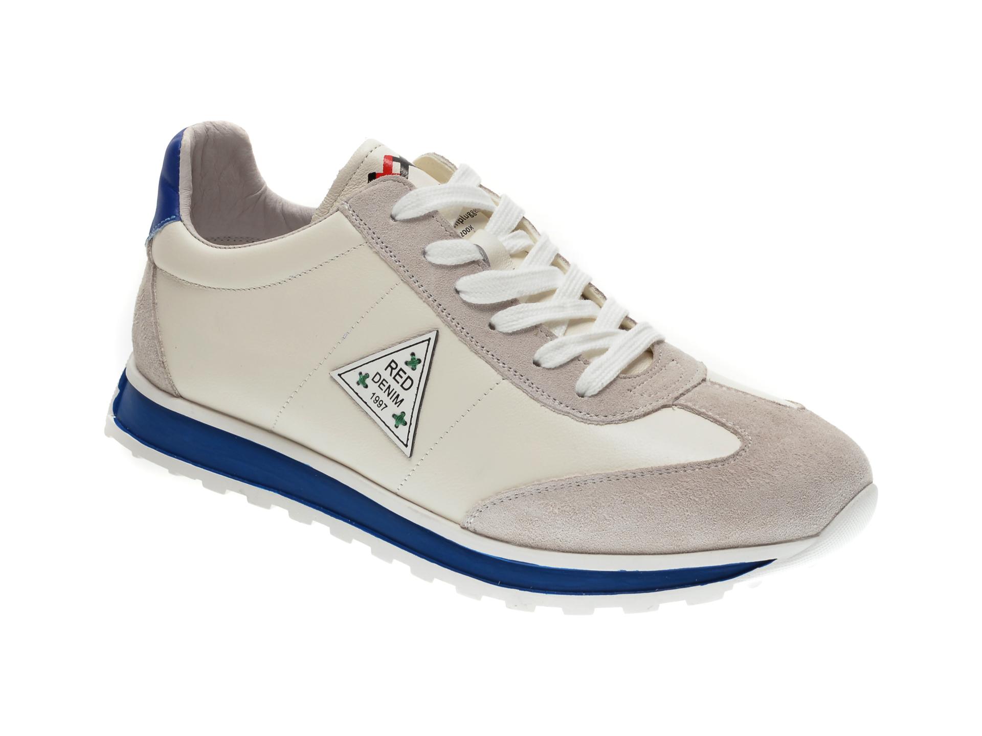 Pantofi sport GRYXX albi, 81283, din piele naturala imagine