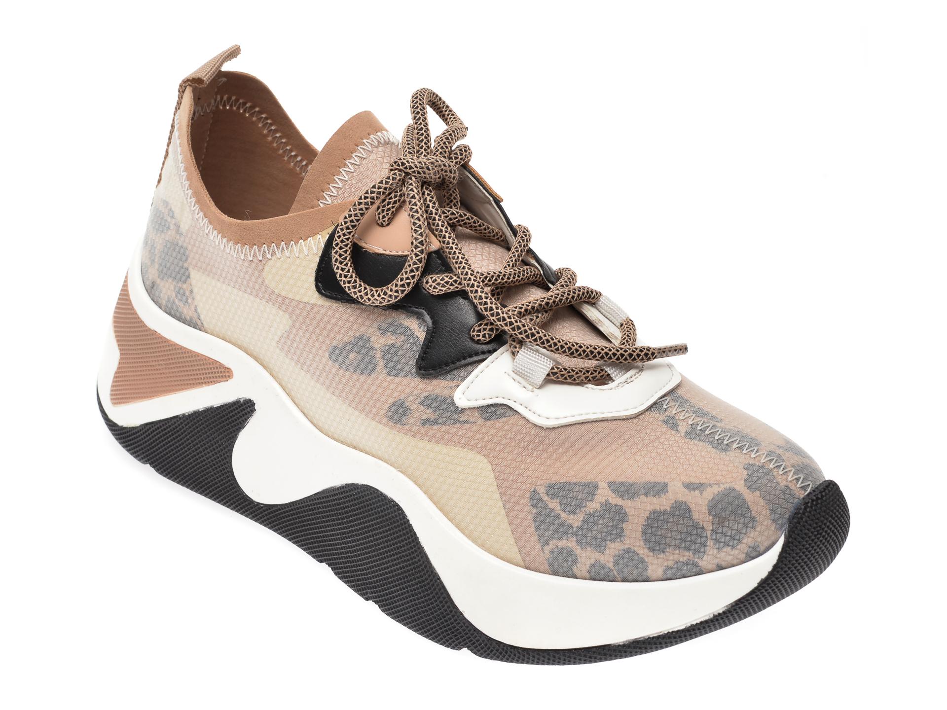 Pantofi sport GRYXX bej, MK18, din material textil imagine