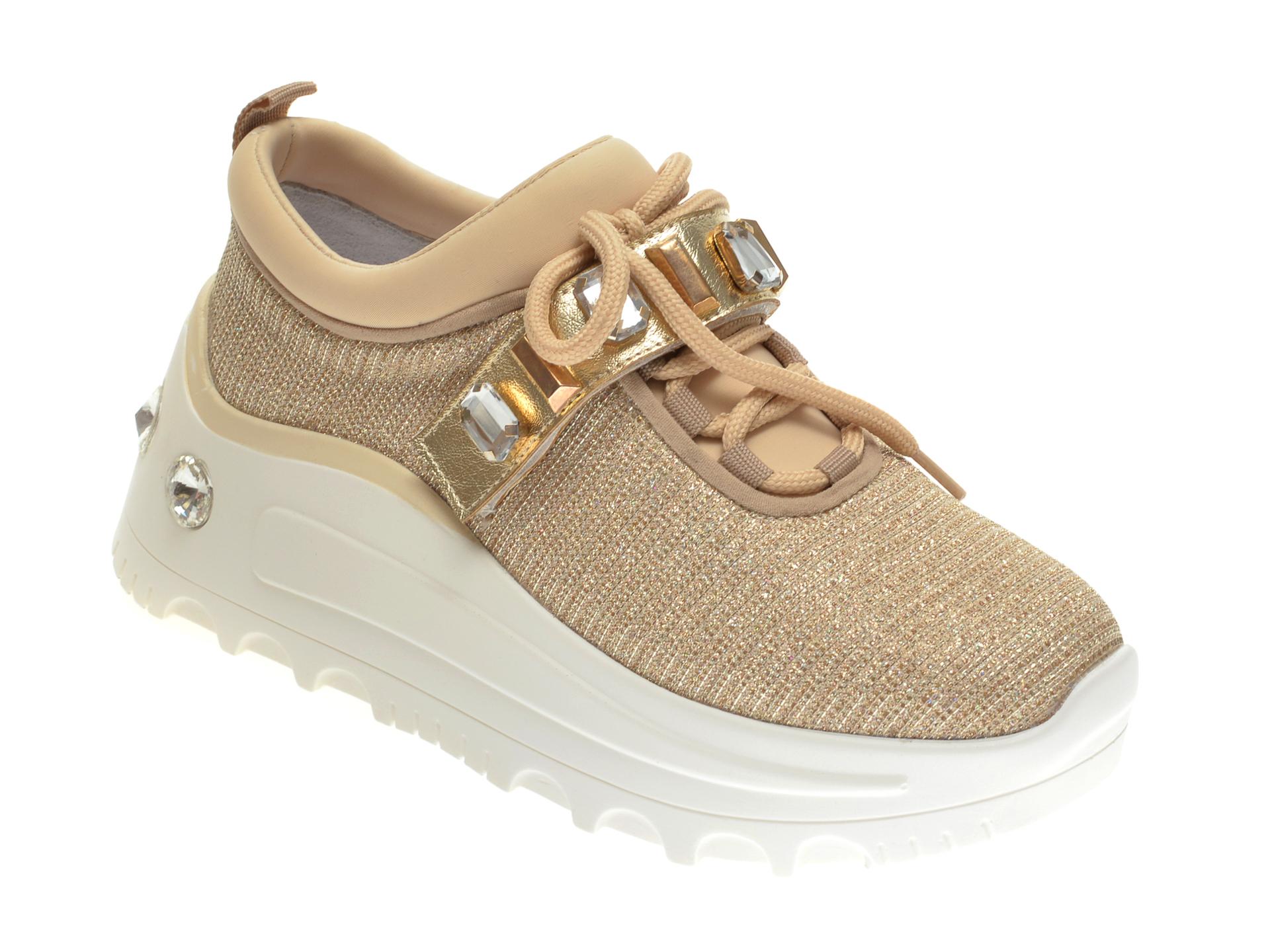 Pantofi Sport Gryxx Bej, Mo1391, Din Material Textil