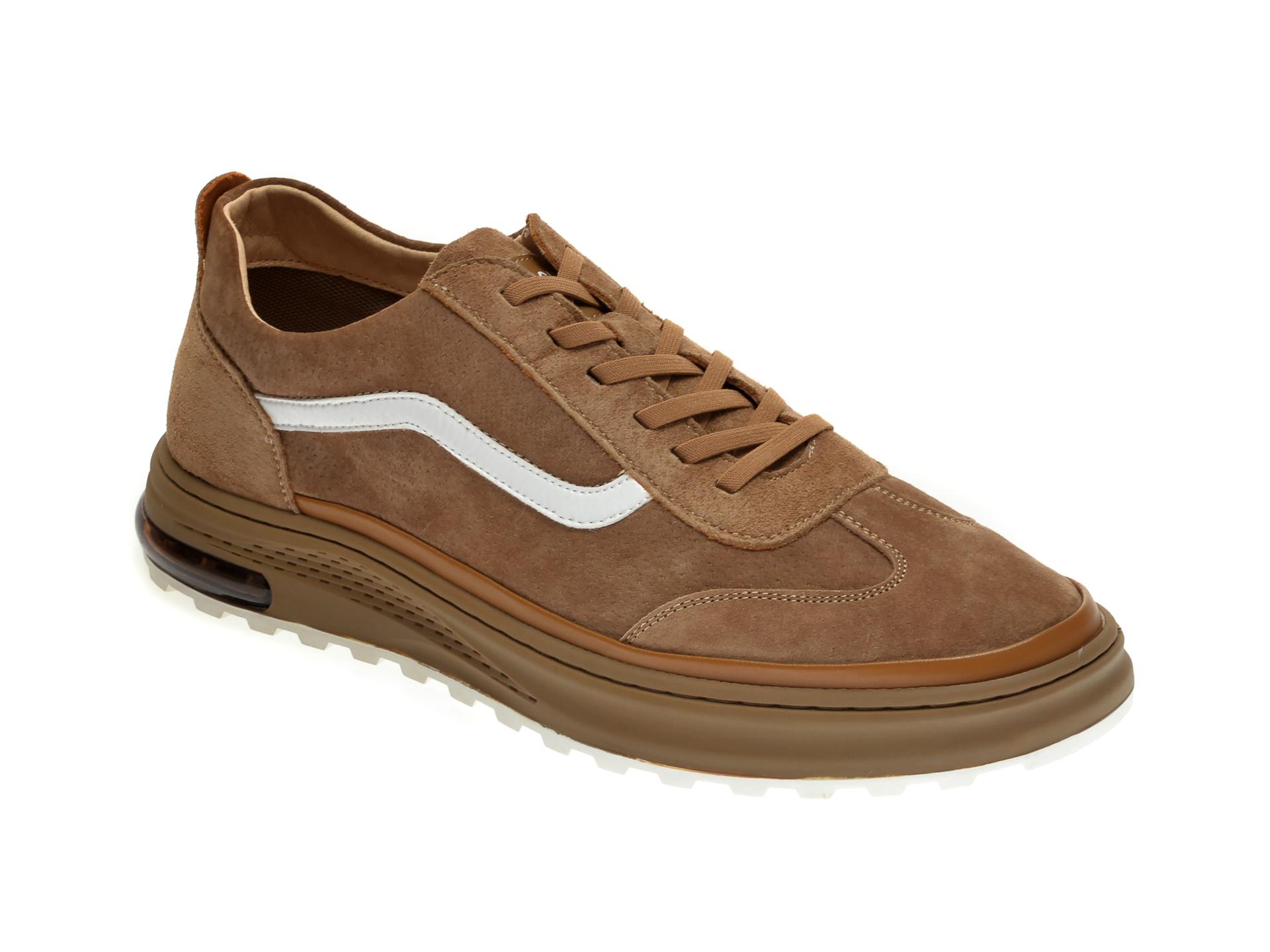 Pantofi sport GRYXX maro, 190358, din nabuc imagine