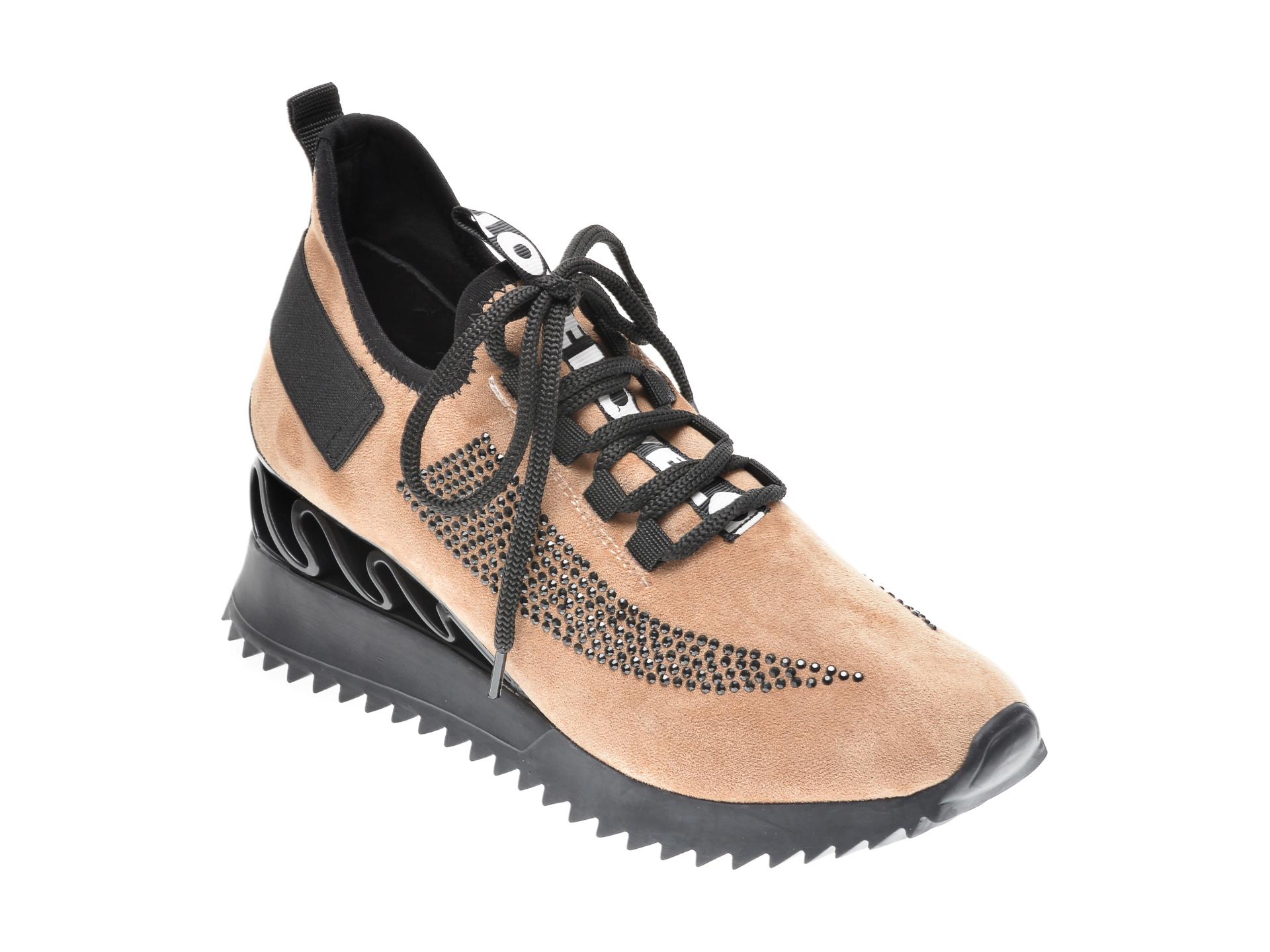 Pantofi sport GRYXX maro, MK8856, din piele ecologica imagine