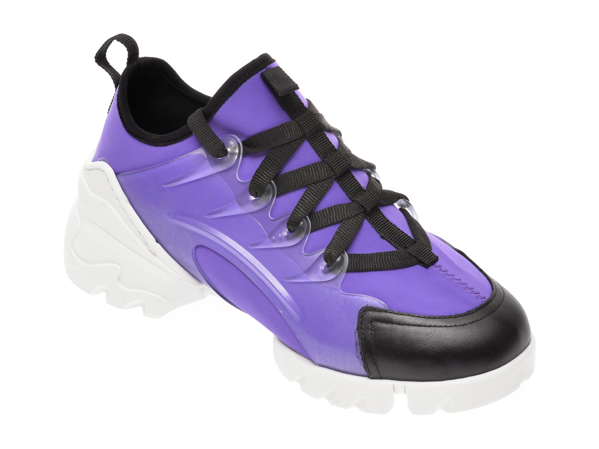 Pantofi sport GRYXX mov, MO1332, din material textil imagine