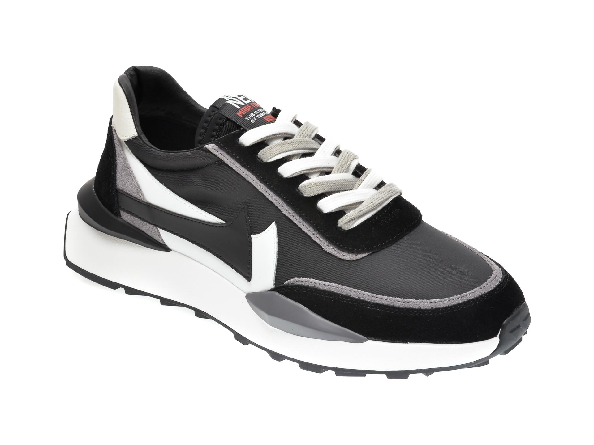 Pantofi sport GRYXX negri, 207011, din material textil si piele intoarsa imagine