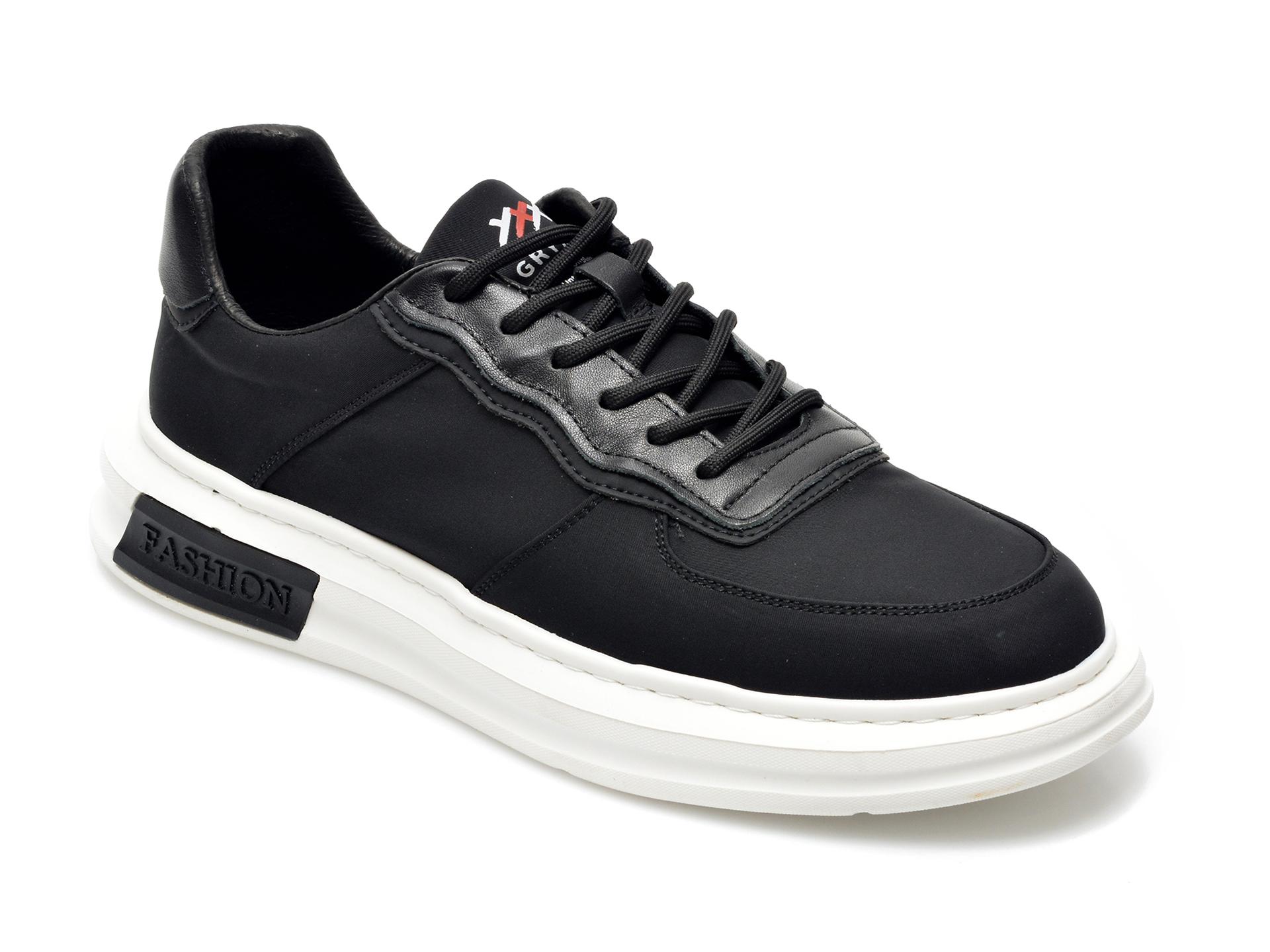 Pantofi Sport Gryxx Negri, 20707, Din Material Textil