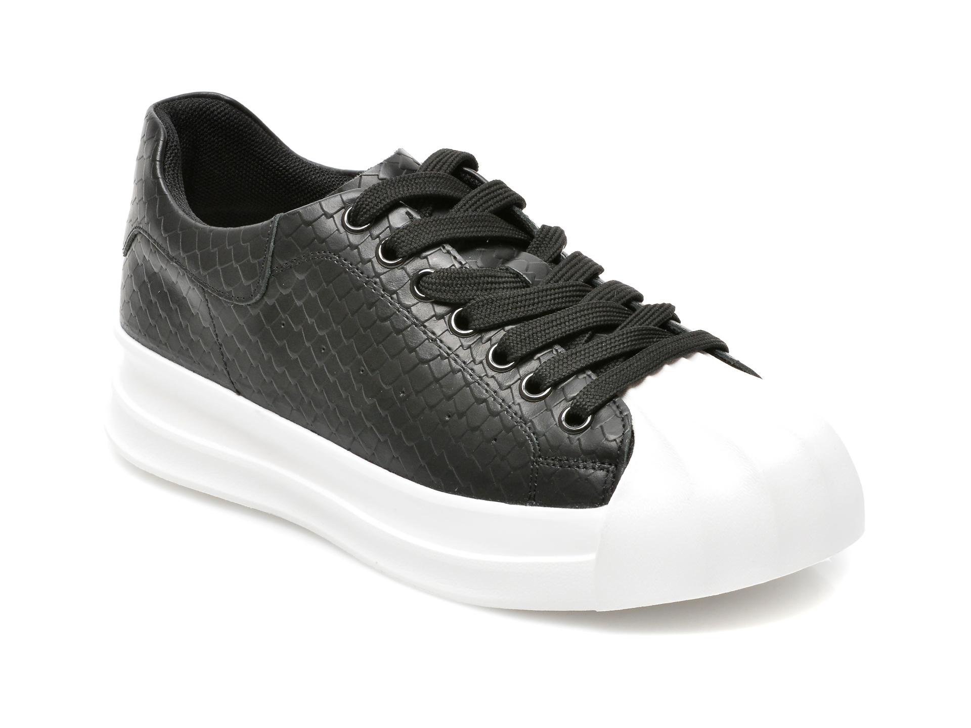 Pantofi sport GRYXX negri, A1191, din piele naturala