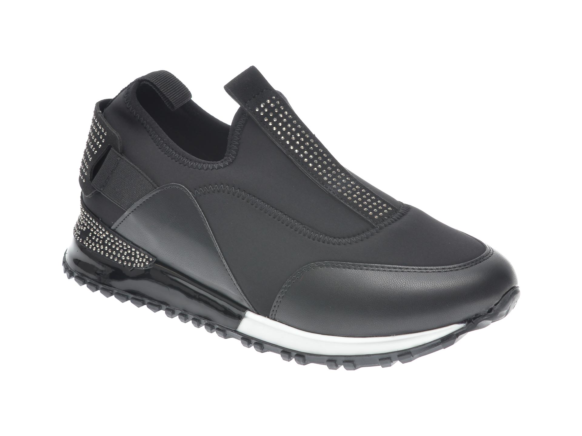 Pantofi sport GRYXX negri, MK4913, din material textil imagine