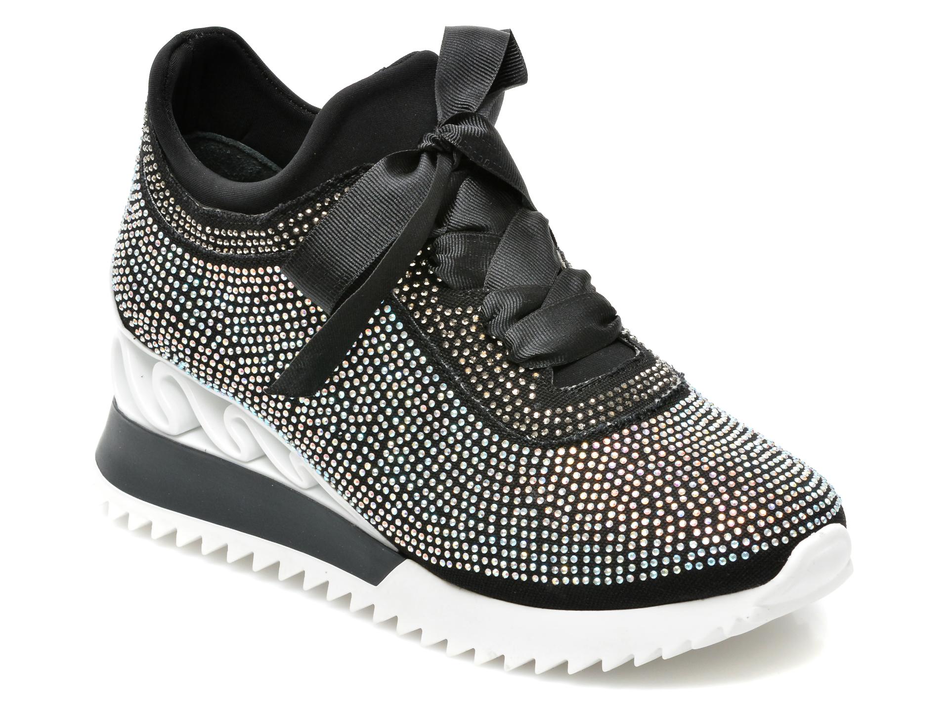 Pantofi sport GRYXX negri, MK883, din material textil