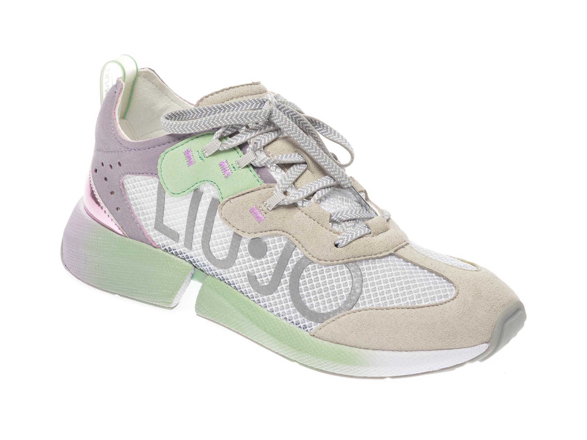 Pantofi sport LIU JO gri, YULIA04, din piele intoarsa imagine