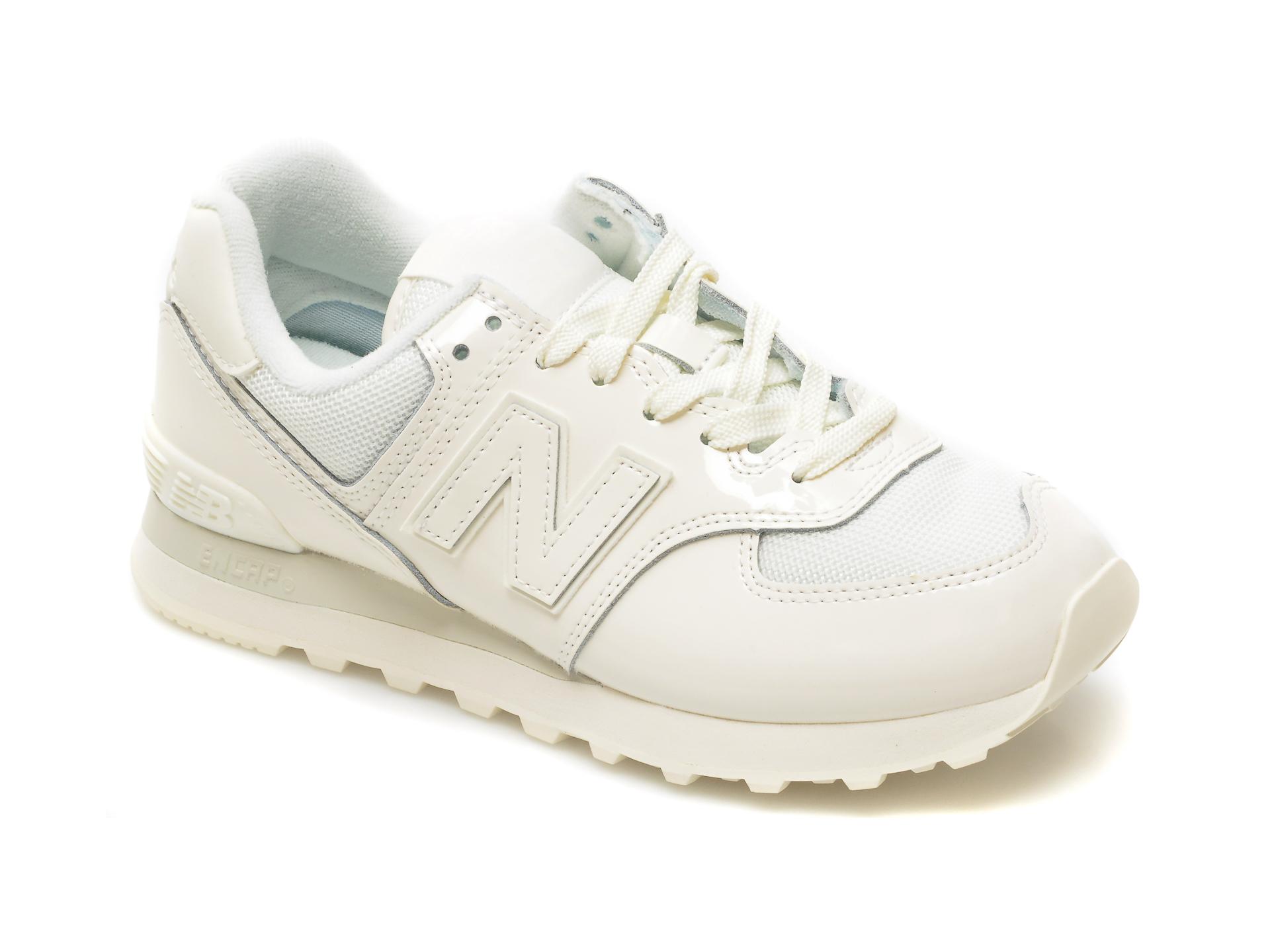 Pantofi sport NEW BALANCE albastri, ML574, din material textil si piele intoarsa