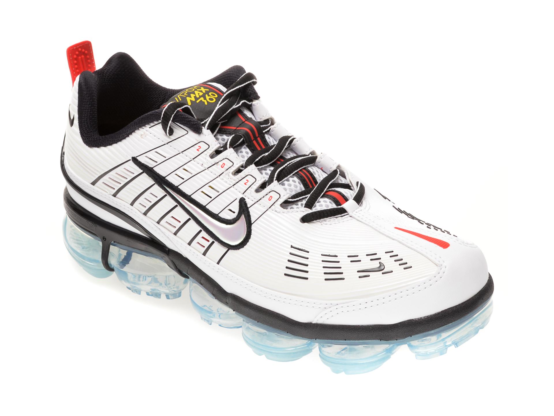 Pantofi Sport Nike Albi, Nike Air Vapormax 360, Din Piele Ecologica