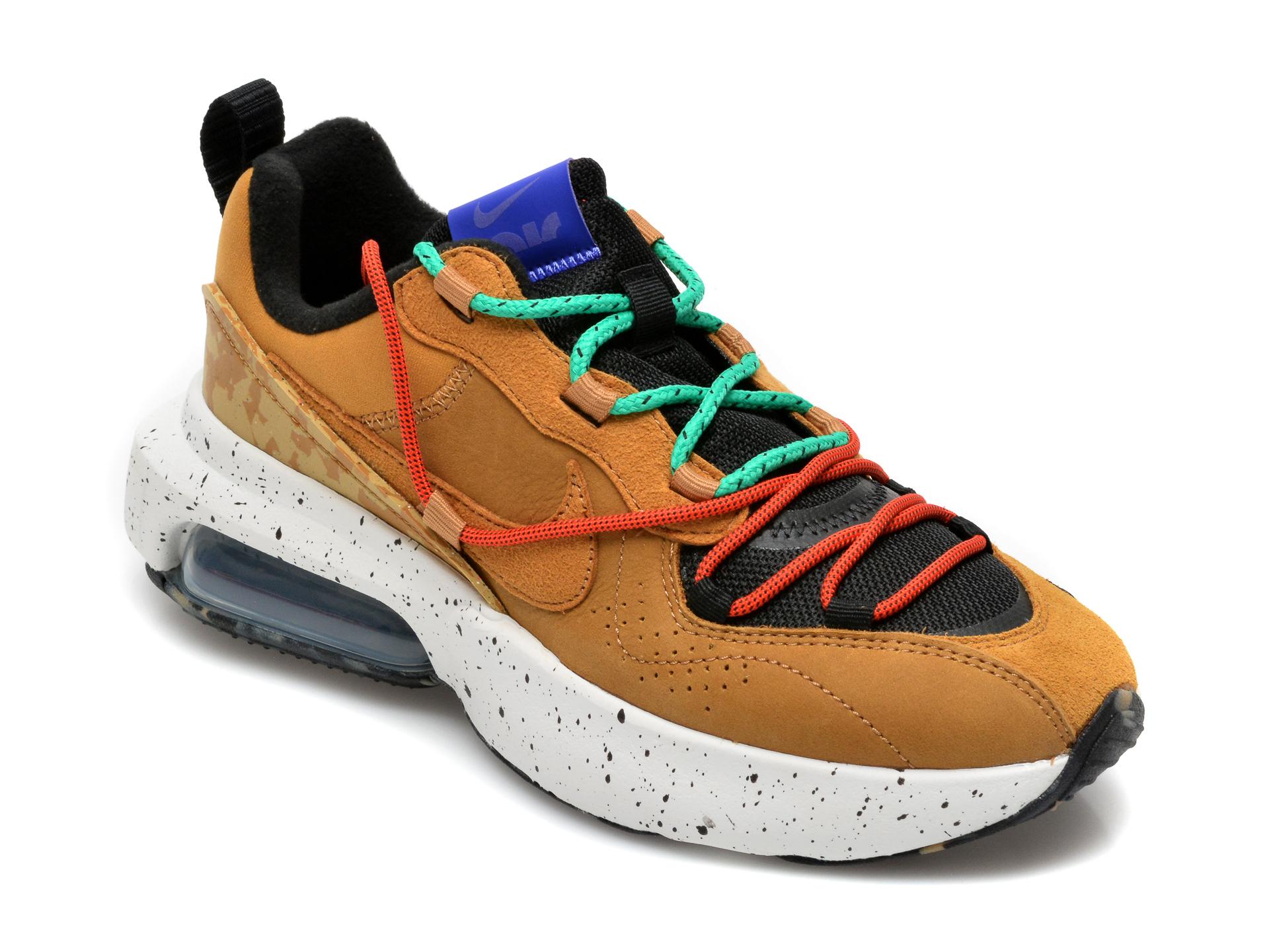 Pantofi sport NIKE maro, W Air Max Viva, din piele naturala si material textil