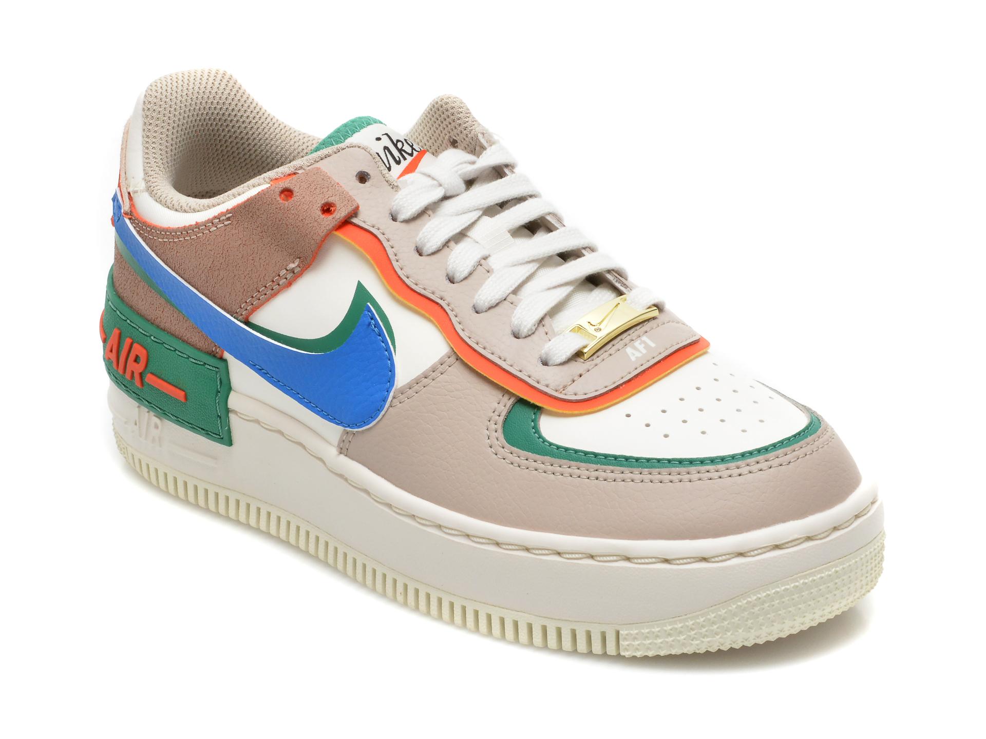 Pantofi Sport Nike Multicolori, W Af1 Shadow, Din Piele Naturala