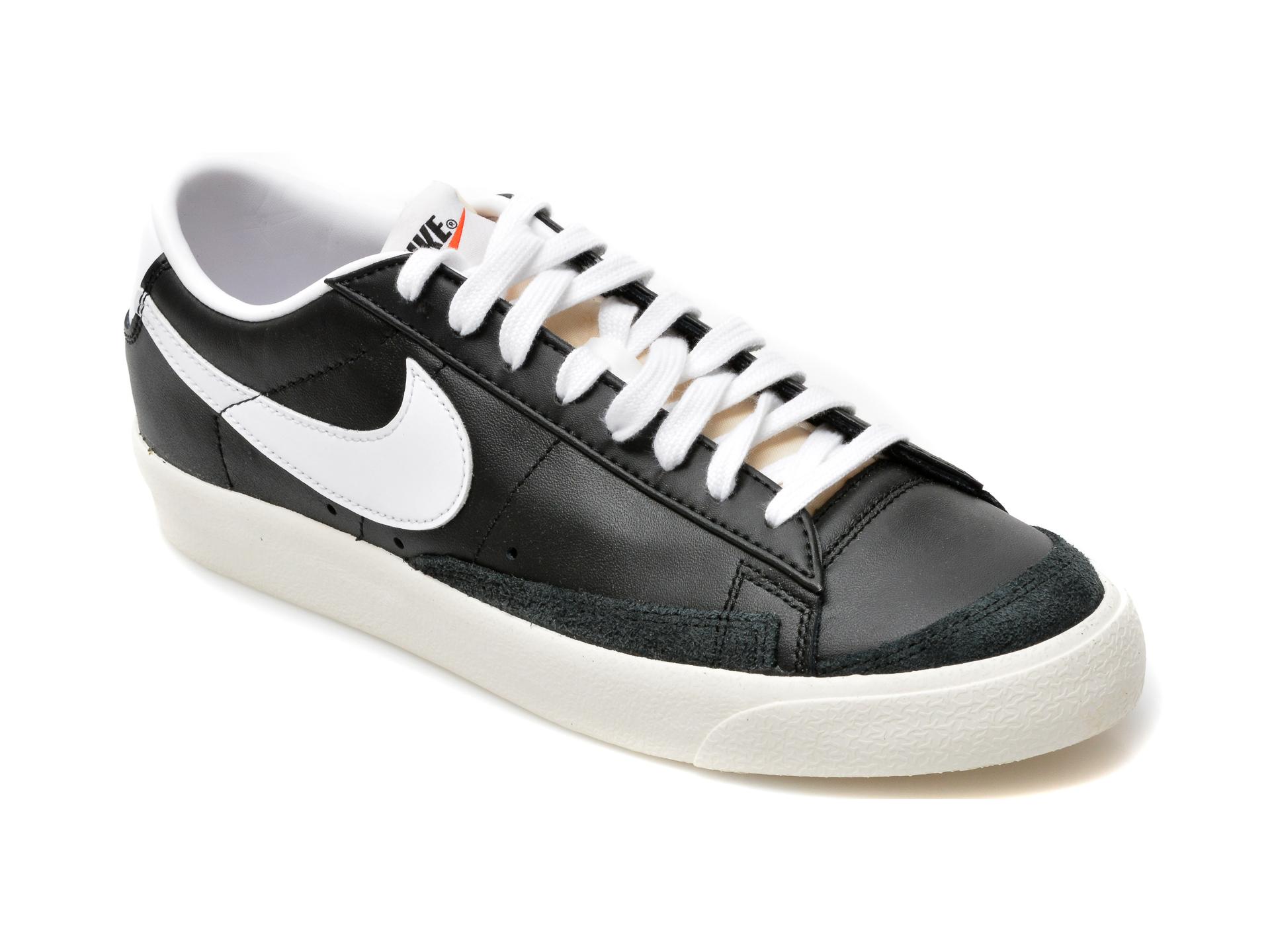 Pantofi sport NIKE negri, DA6364, din piele naturala