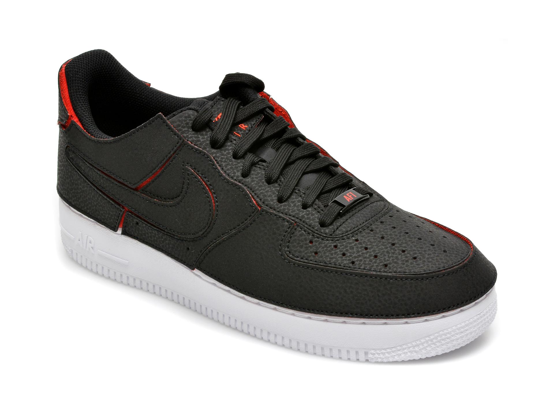 Pantofi sport NIKE negri, Nike Af1/1, din piele ecologica