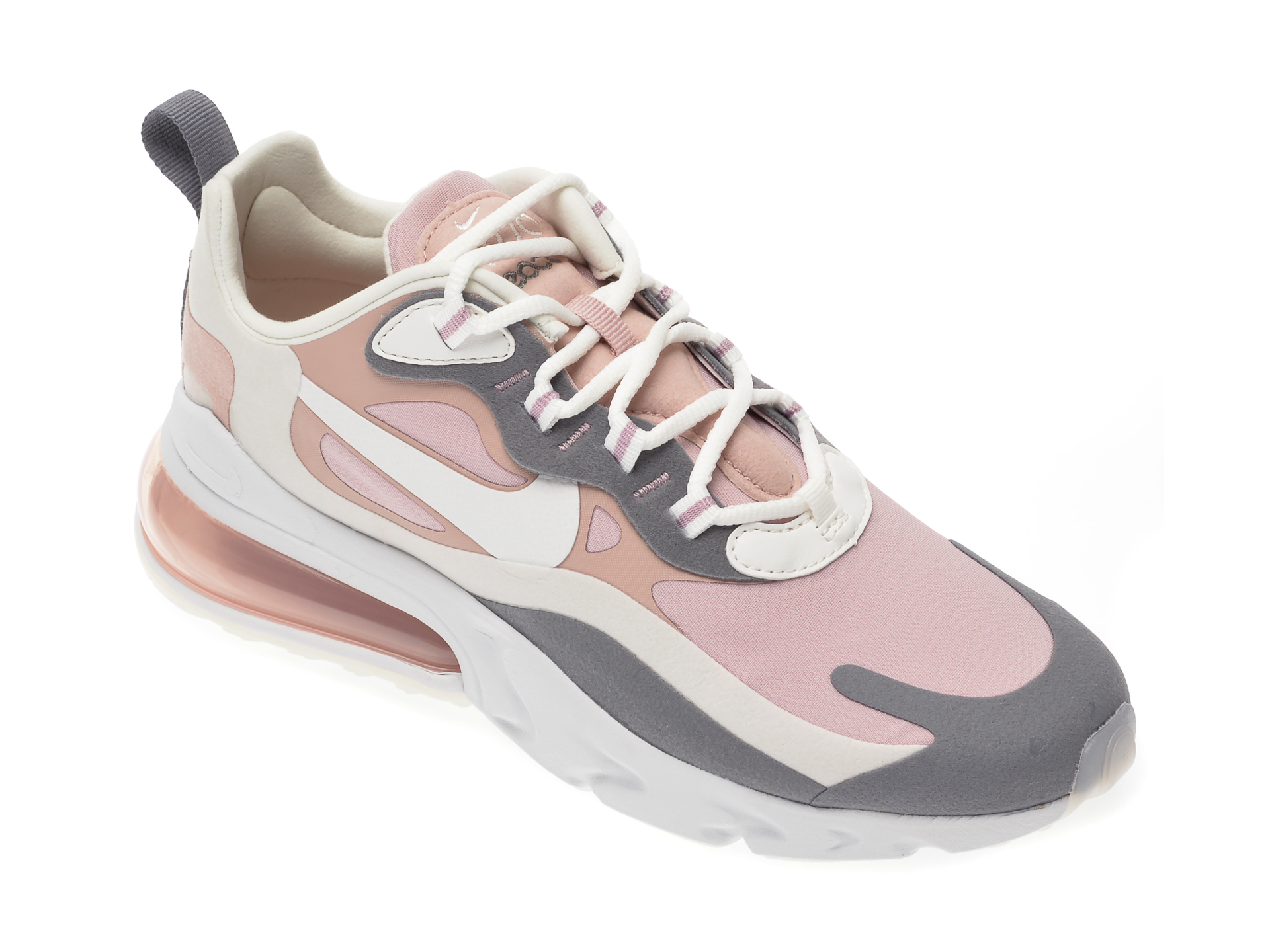 Pantofi sport NIKE roz, Air Max 270 React, din material textil