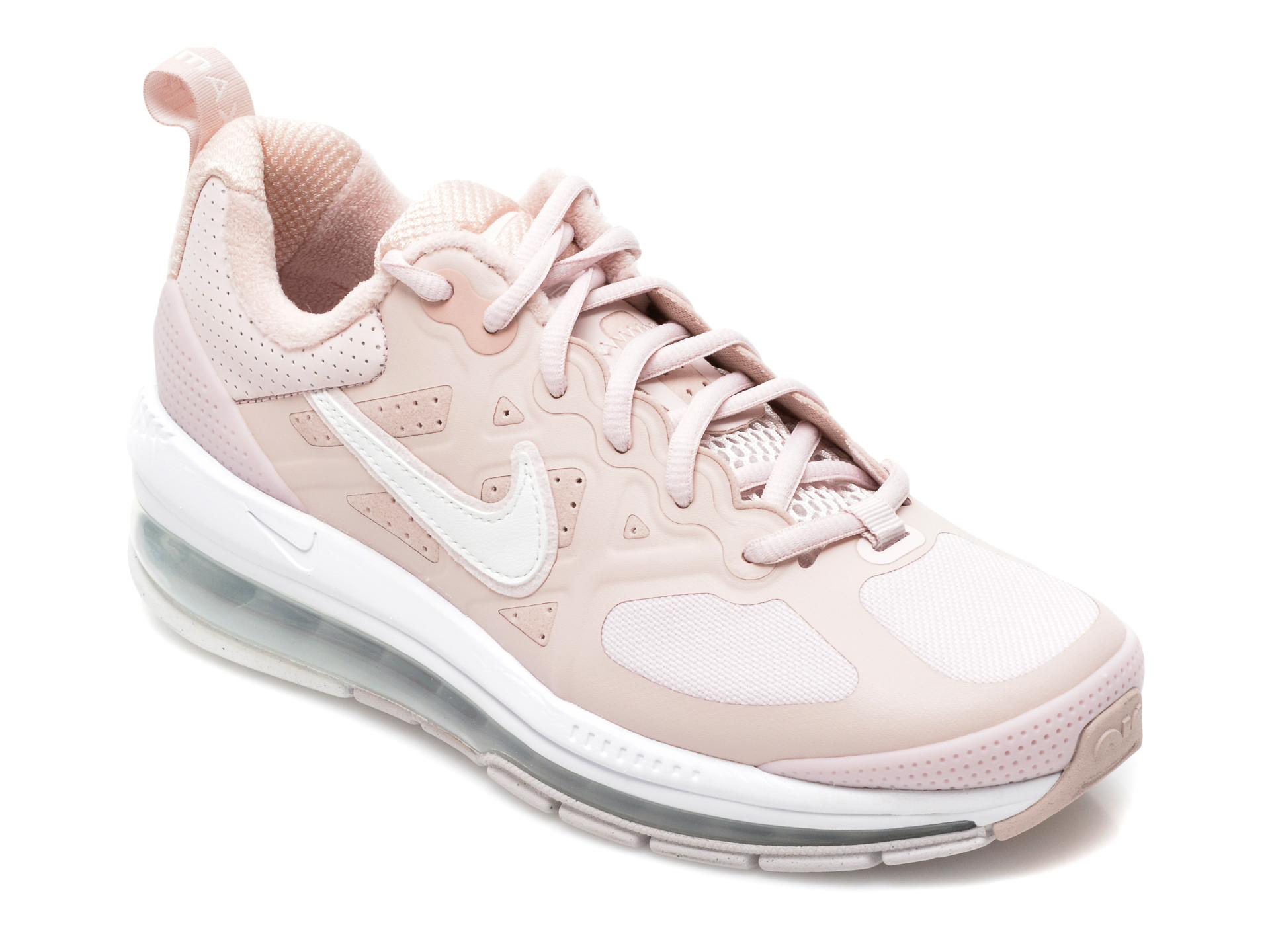 Pantofi sport NIKE roz, DJ3893, din material textil si piele ecologica