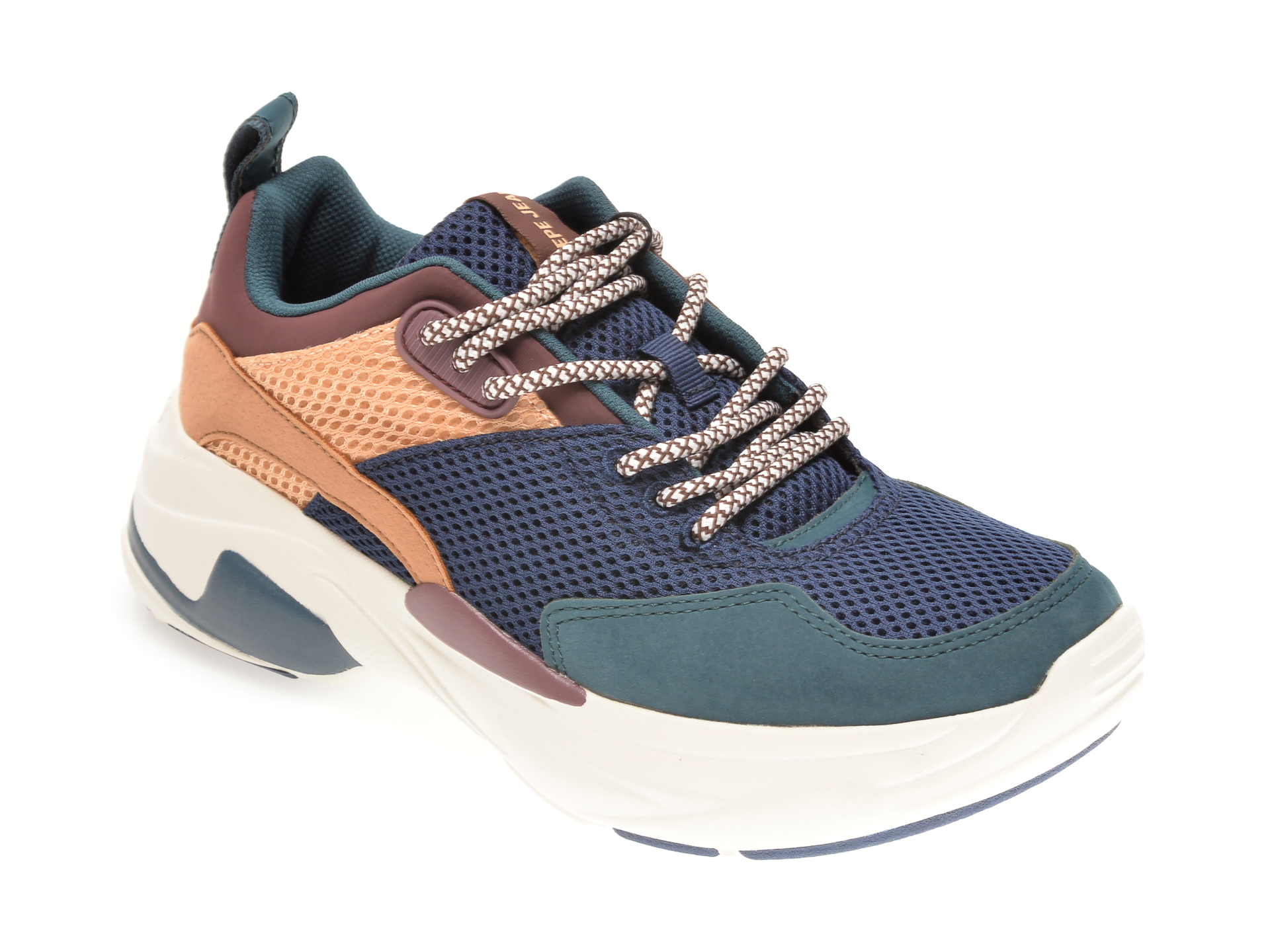 Pantofi sport PEPE JEANS albastri, LS31080, din material textil