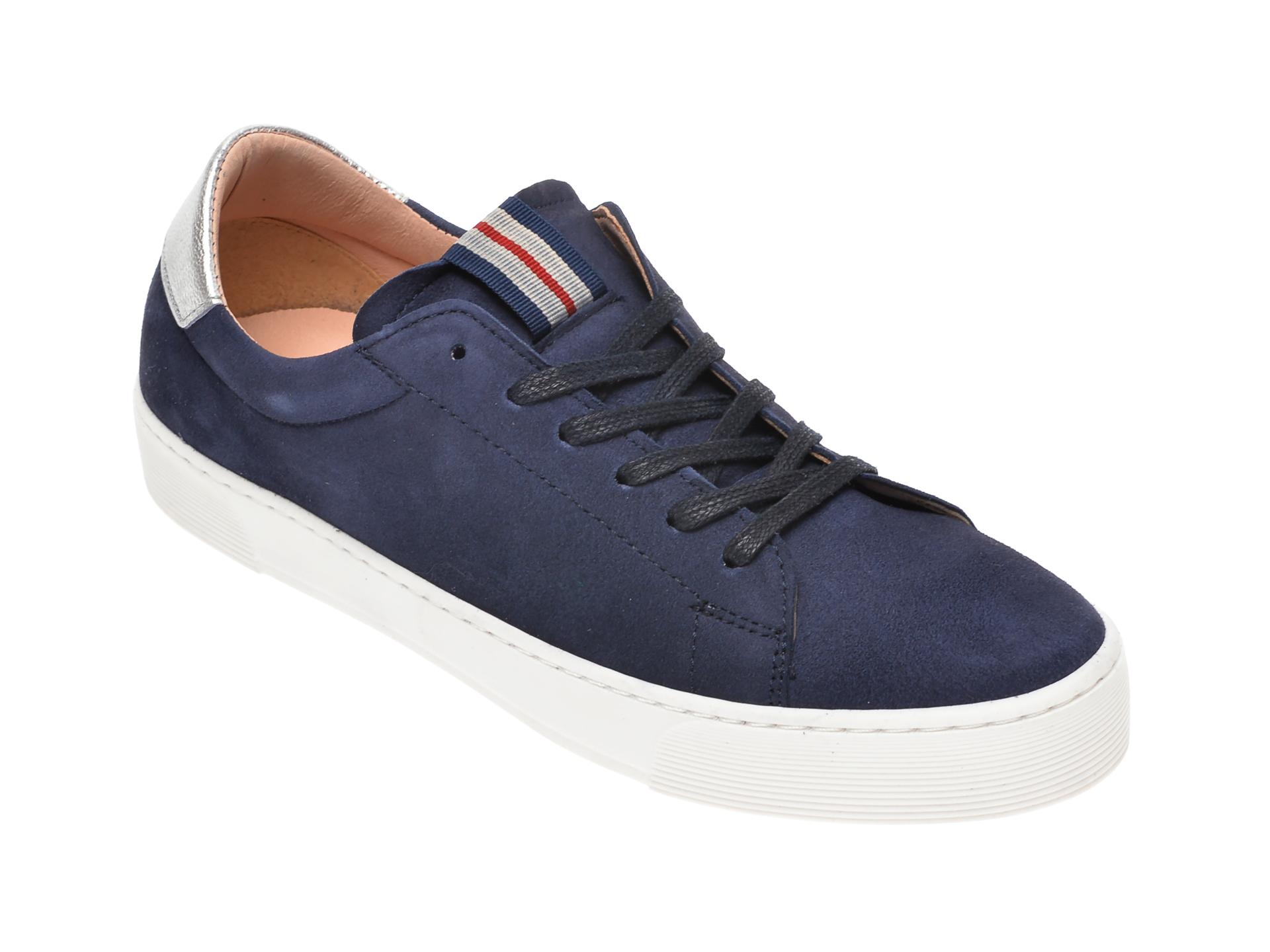 Pantofi sport SALAMANDER bleumarin, 55301, din piele intoarsa imagine