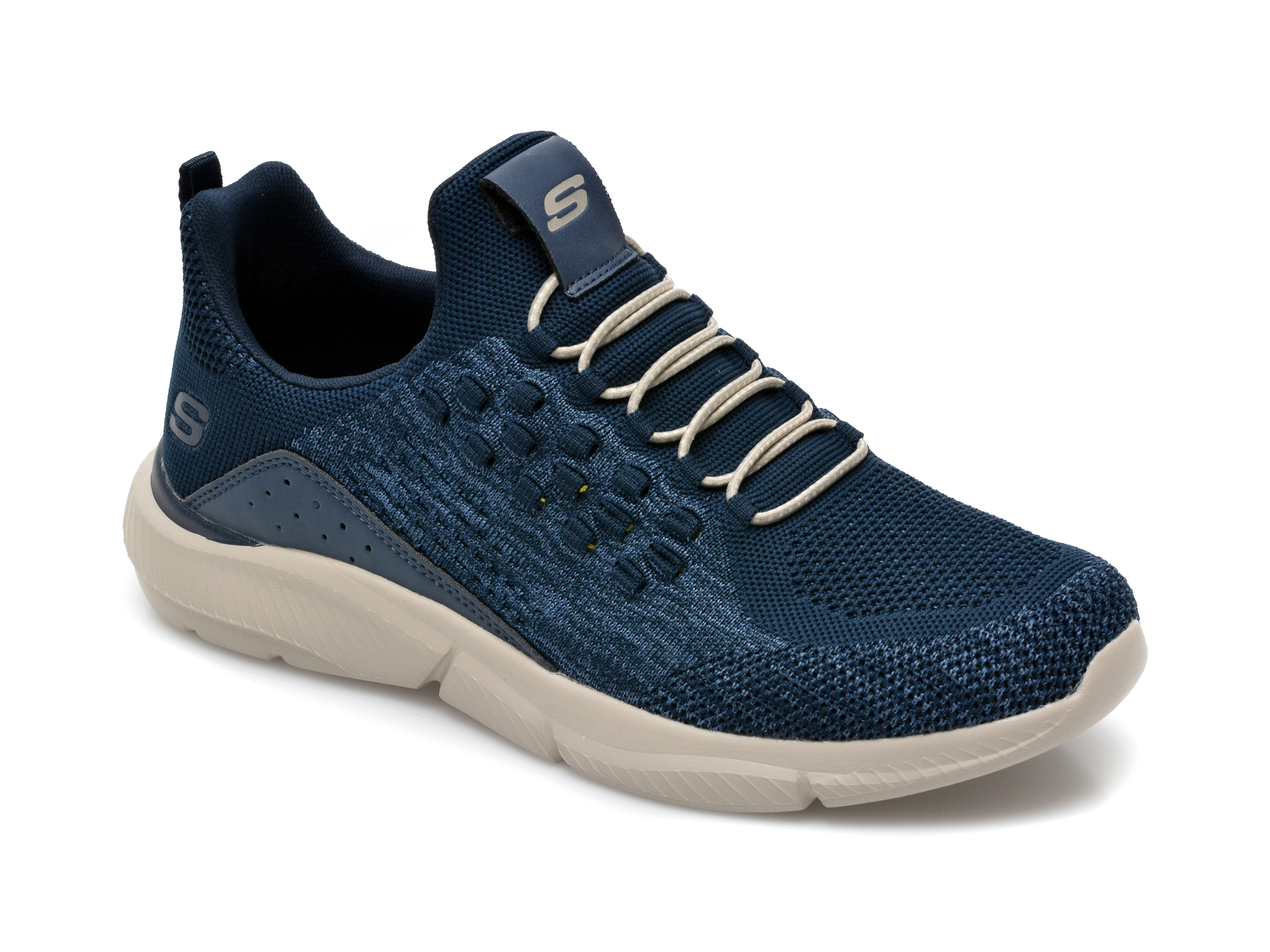 Pantofi Sport Skechers Bleumarin, Ingram Streetway, Din Material Textil