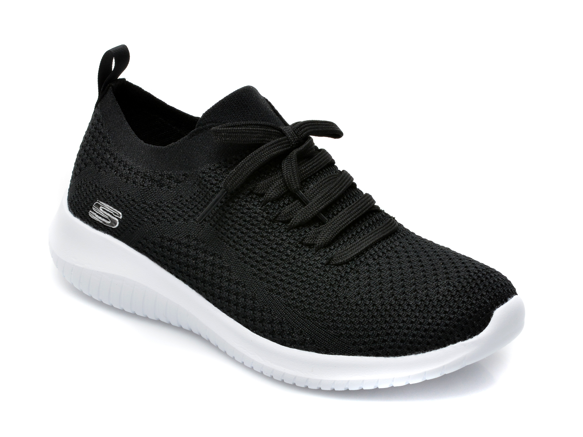 Pantofi Sport Skechers Negri, Ultra Flex Statements, Din Material Textil