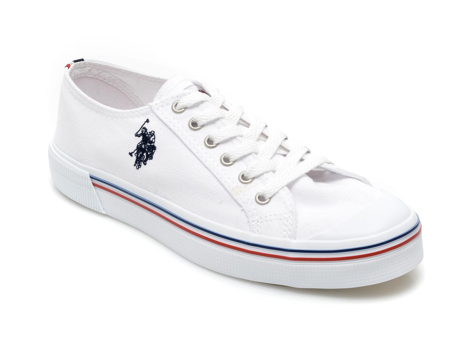 Pantofi Sport Us Polo Assn Albi, Pene1fx, Din Material Textil
