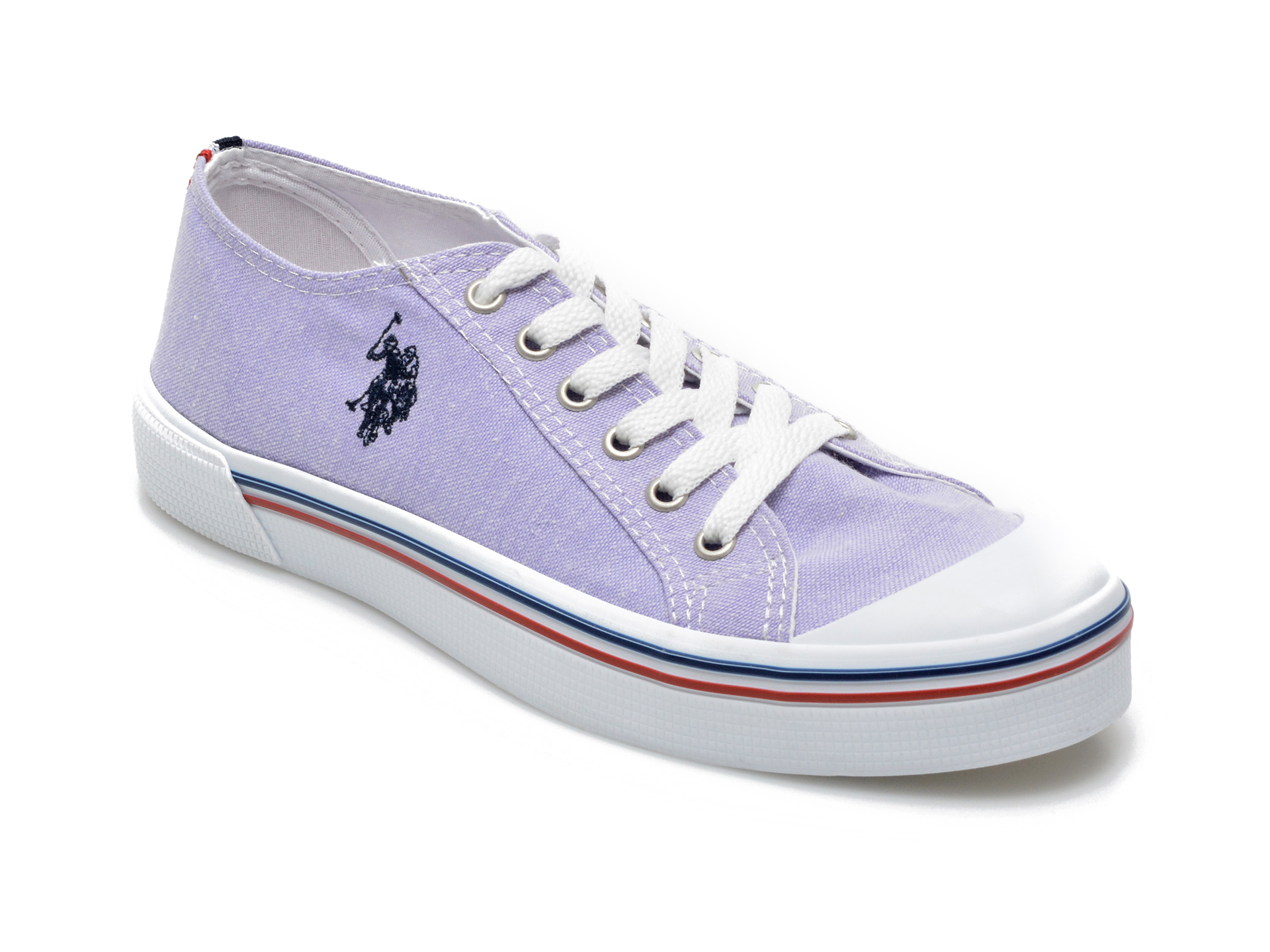 Pantofi sport US POLO ASSN mov, PENE1FX, din material textil
