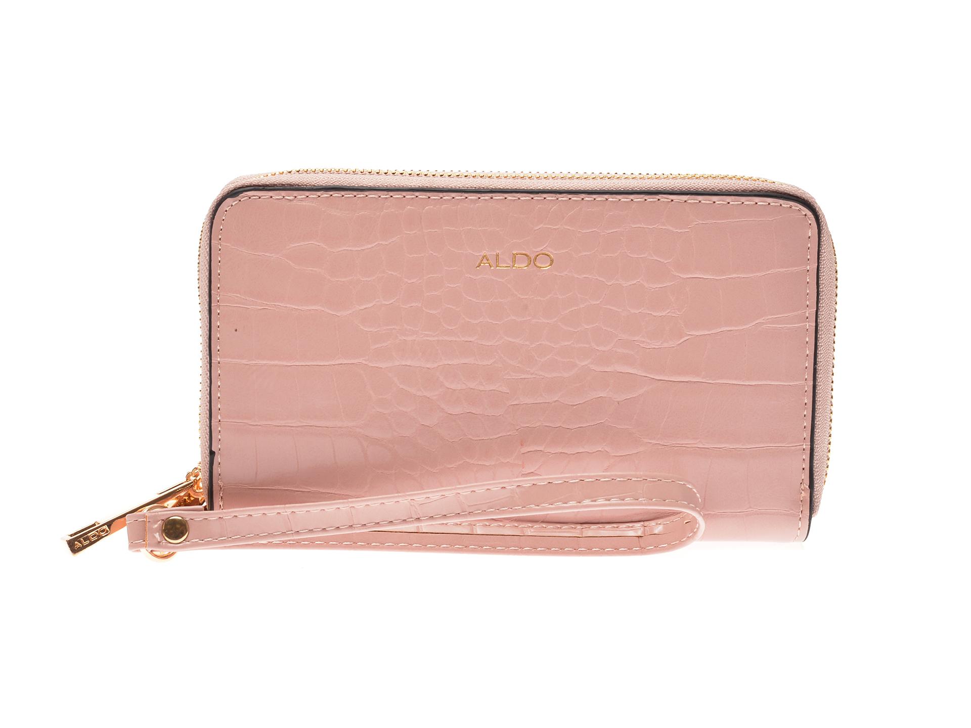 Portofel ALDO roz, Aforeri690, din piele ecologica imagine