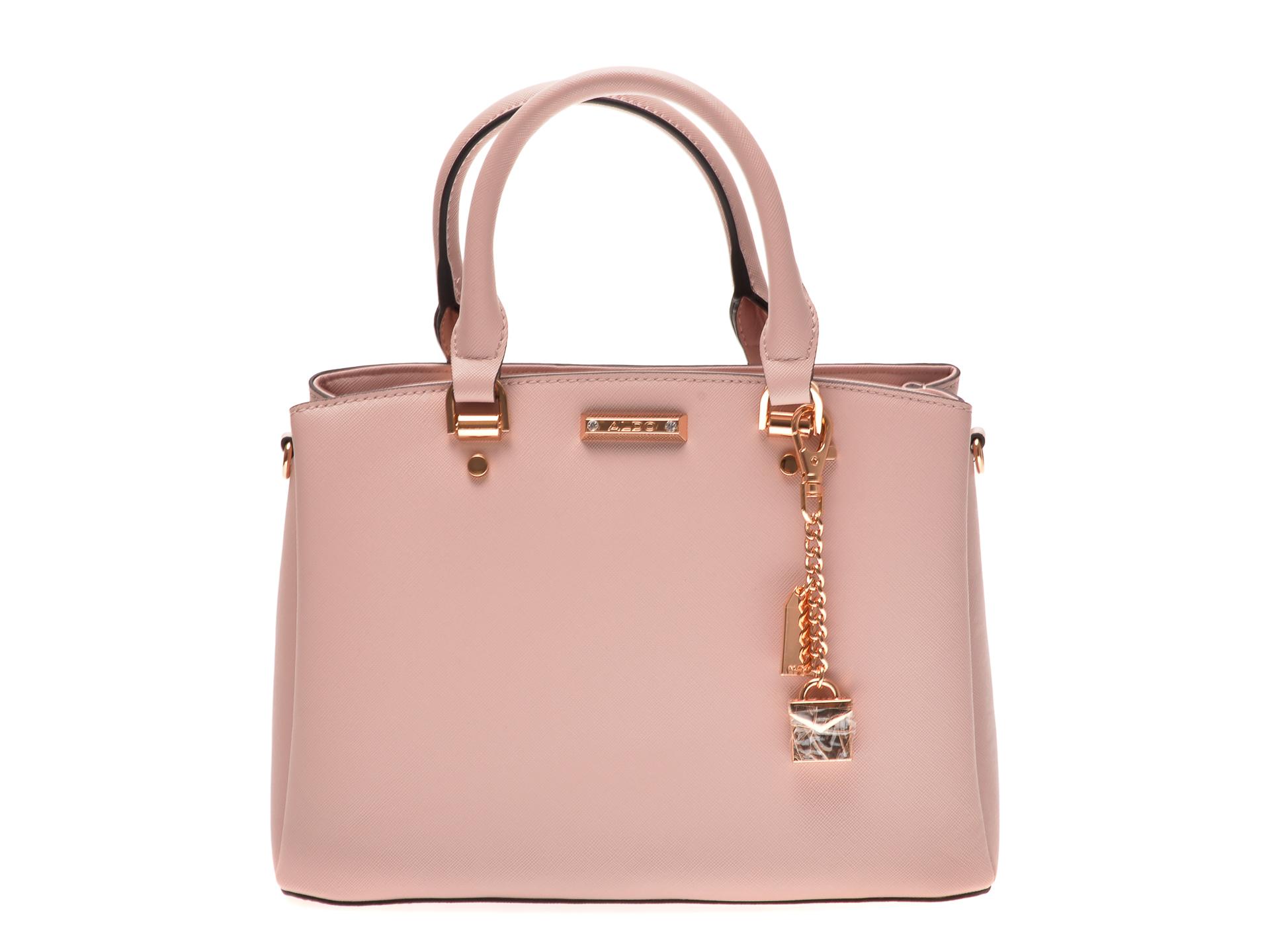 Poseta ALDO roz, Papasula680, din piele ecologica imagine