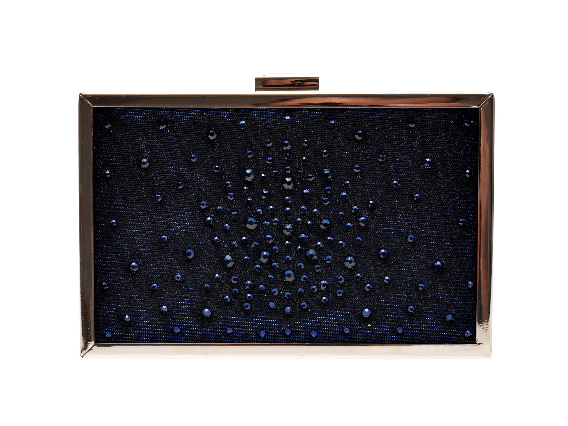 Poseta Plic Menbur Bleumarin, 84414, Din Material Textil