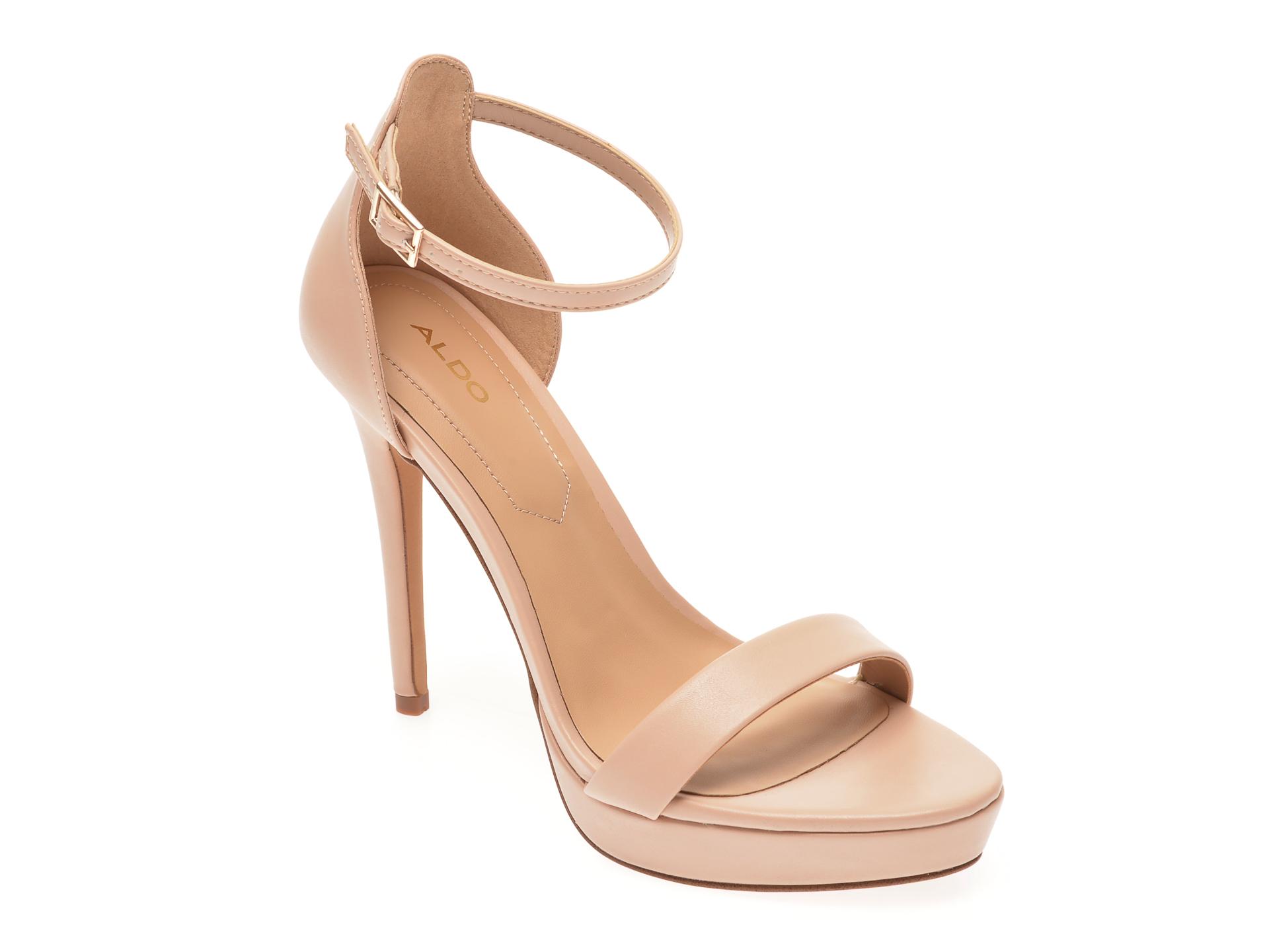 Sandale ALDO bej, Madalene271, din piele ecologica