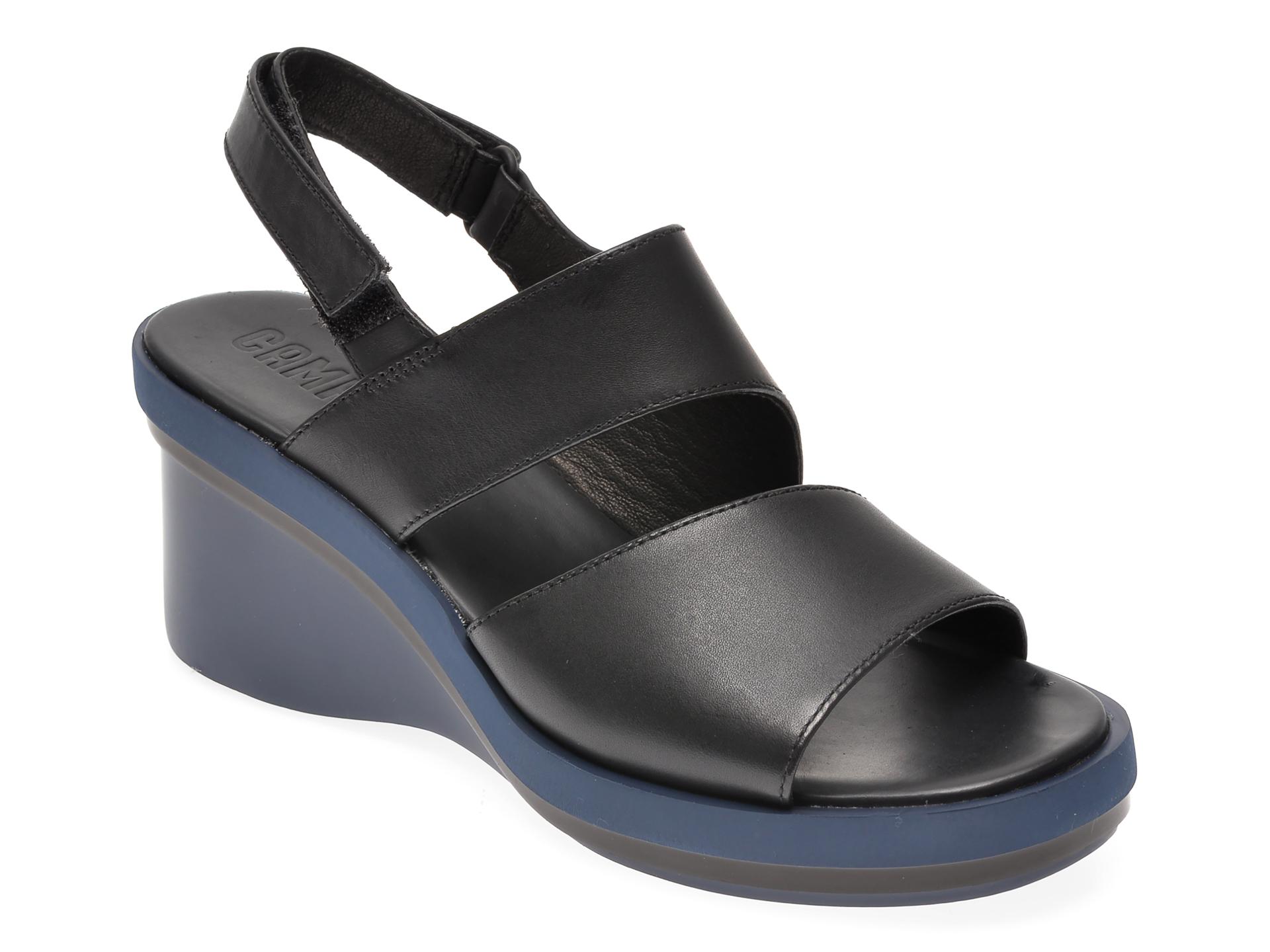 Sandale CAMPER negre, K200965, din piele naturala