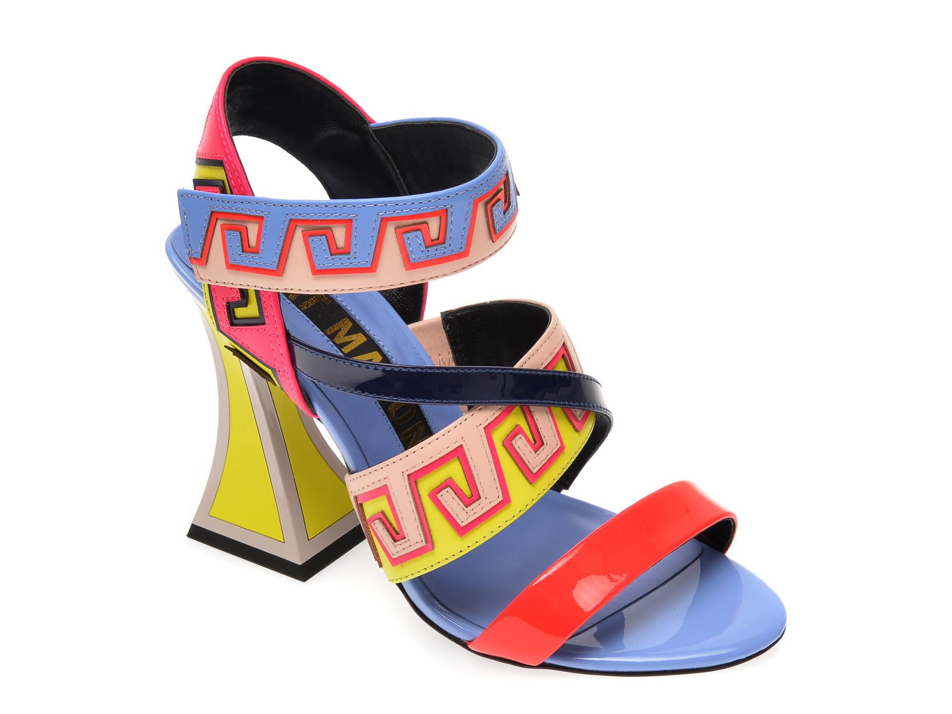 Sandale KAT MACONIE FOR EPICA multicolor, ESME, din piele naturala