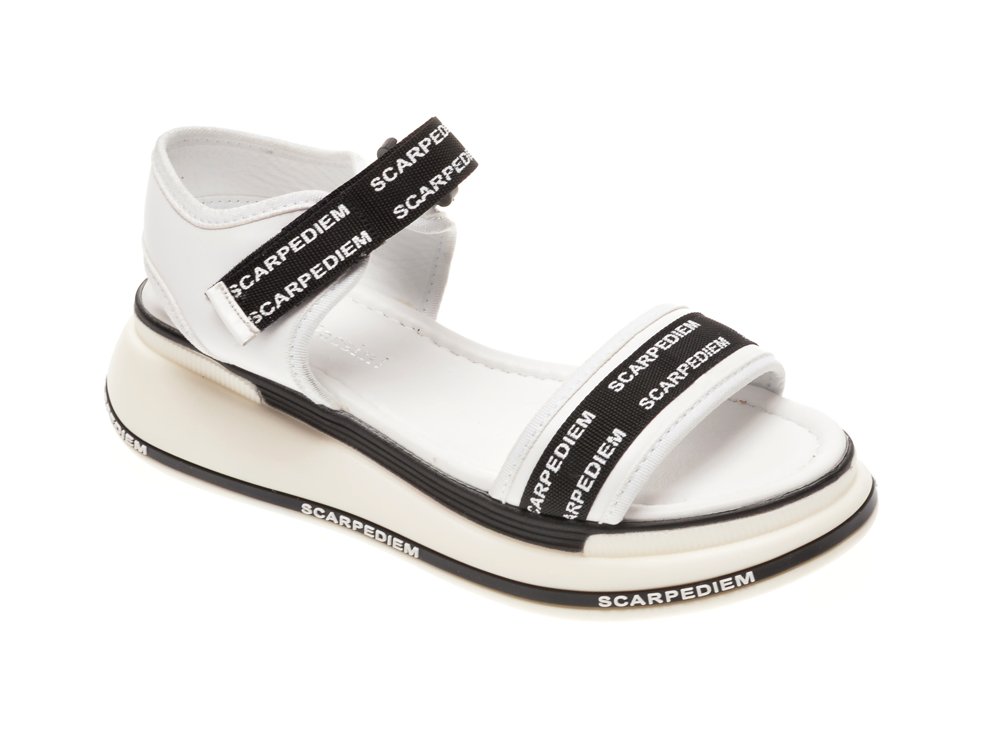 Sandale FLAVIA PASSINI albe, 1182380, din piele naturala imagine