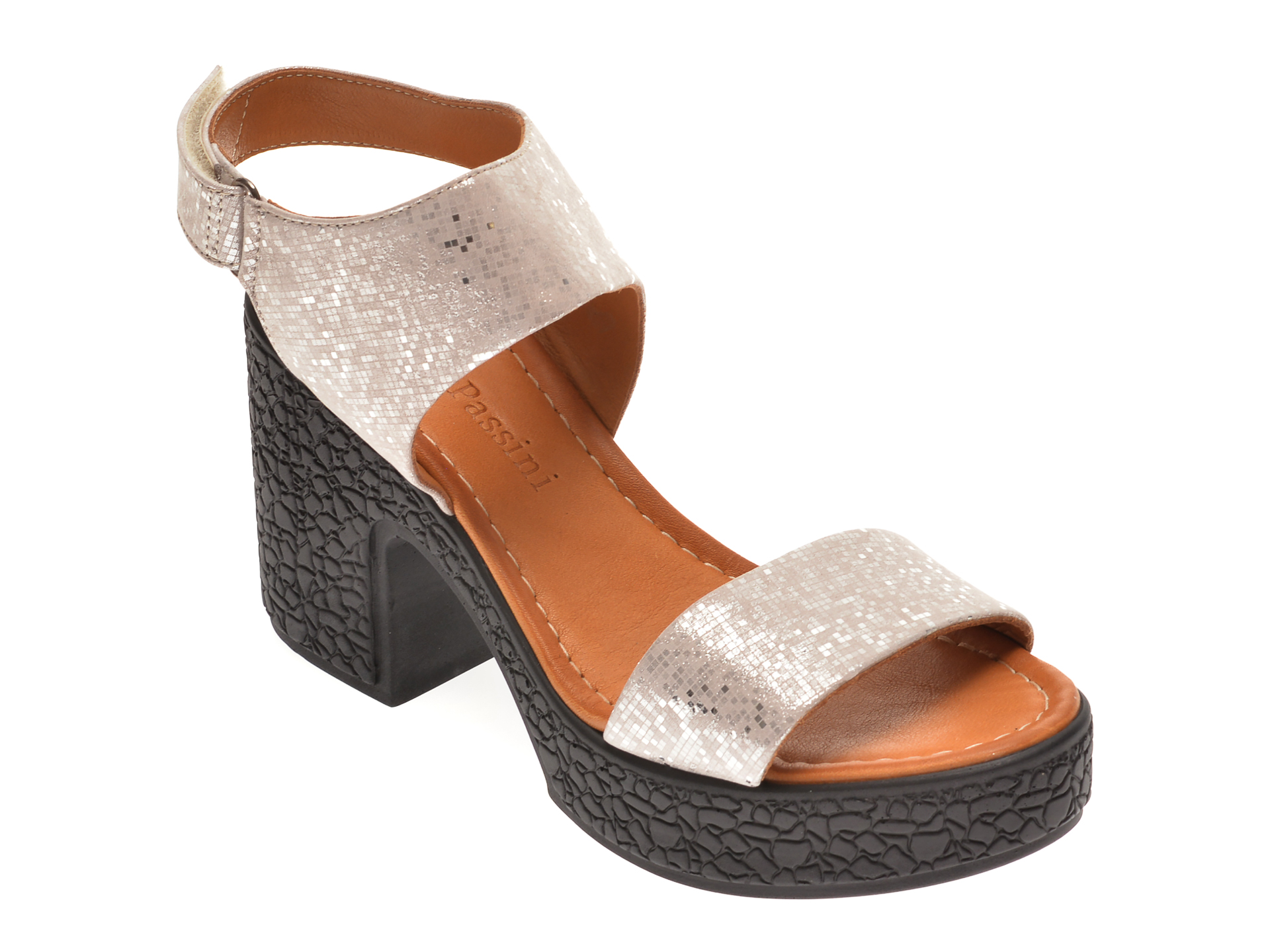 Sandale FLAVIA PASSINI bej, 1181335, din piele naturala imagine