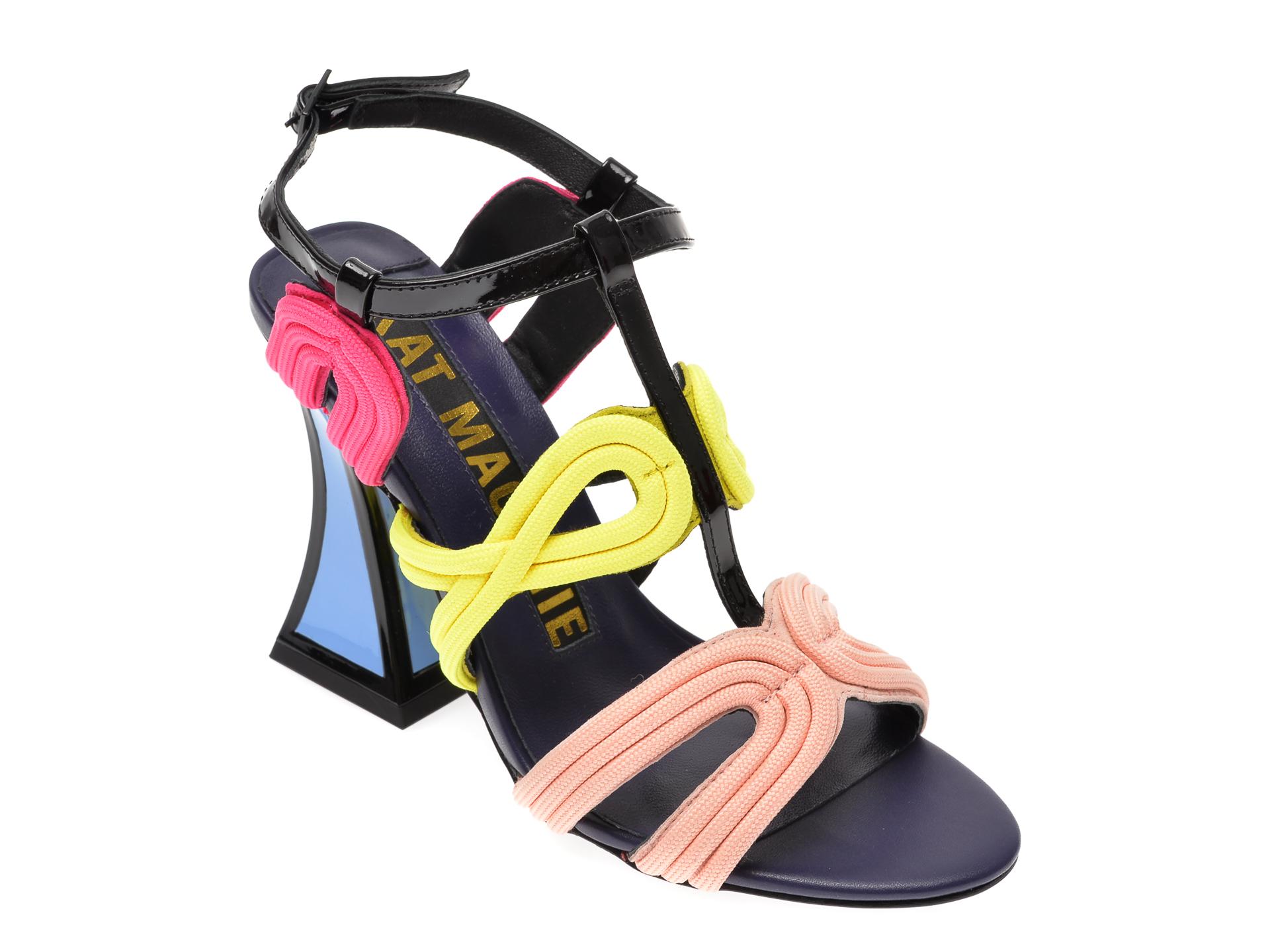 Sandale Kat Maconie Multicolor, Sissy, Din Piele Naturala