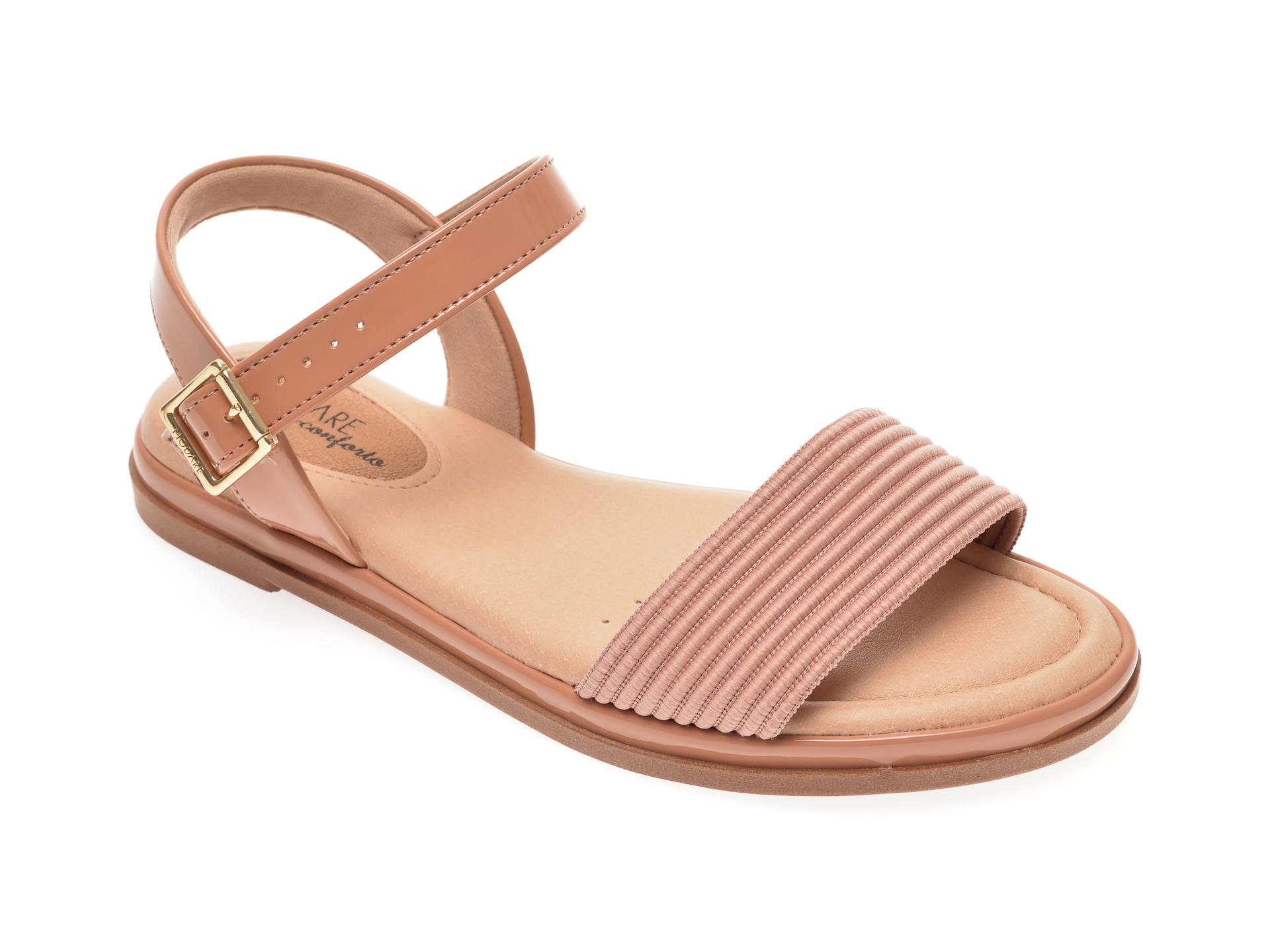 Sandale Modare Nude, 7139108, Din Piele Ecologica